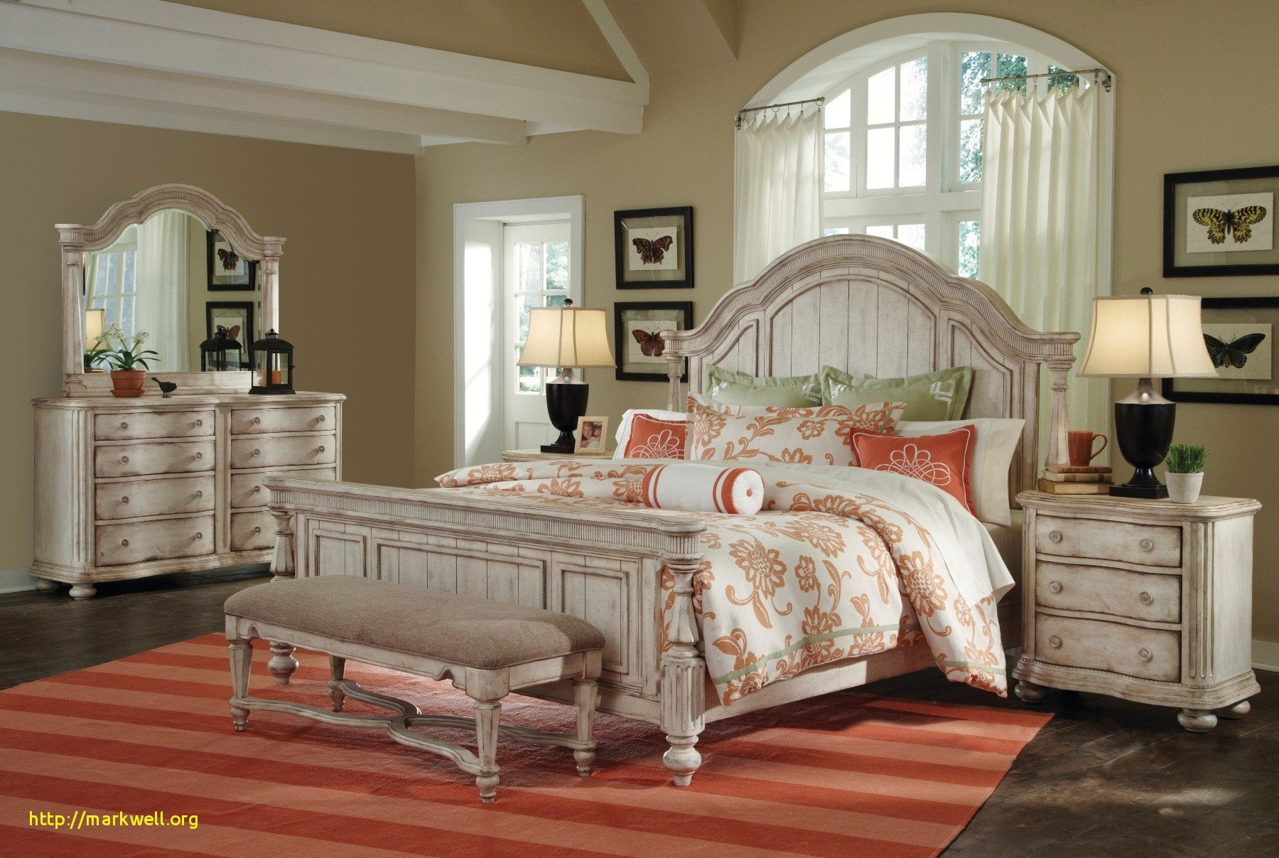 High Quality Bedroom Furniture New Beautiful White Bedroom Chair