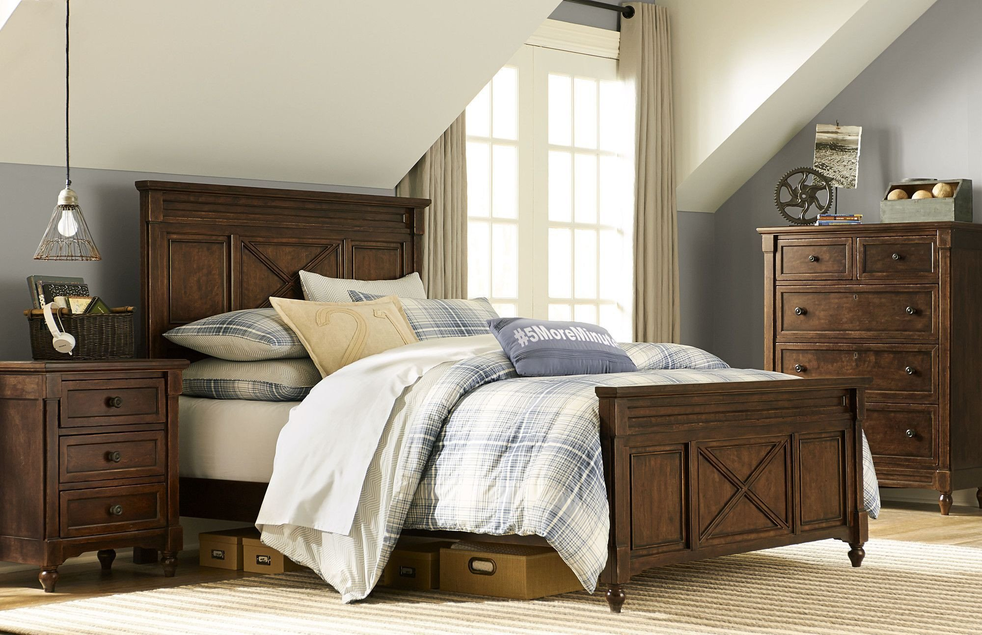 High Quality Bedroom Furniture New Big Sur by Wendy Bellissimo Full Panel Bed