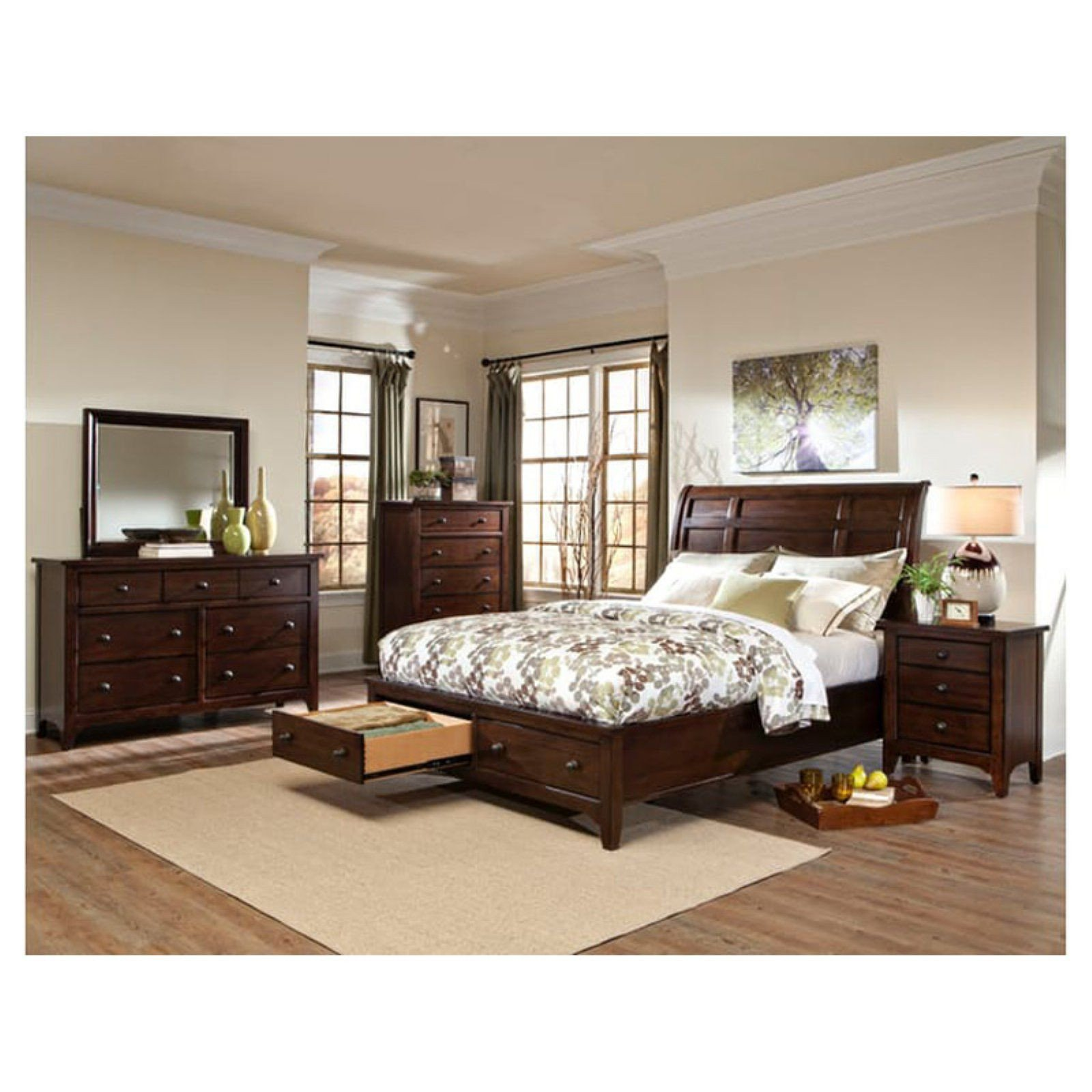 Home Furniture Bedroom Set Unique Imagio Home Jackson Sleigh Storage Bed Size California