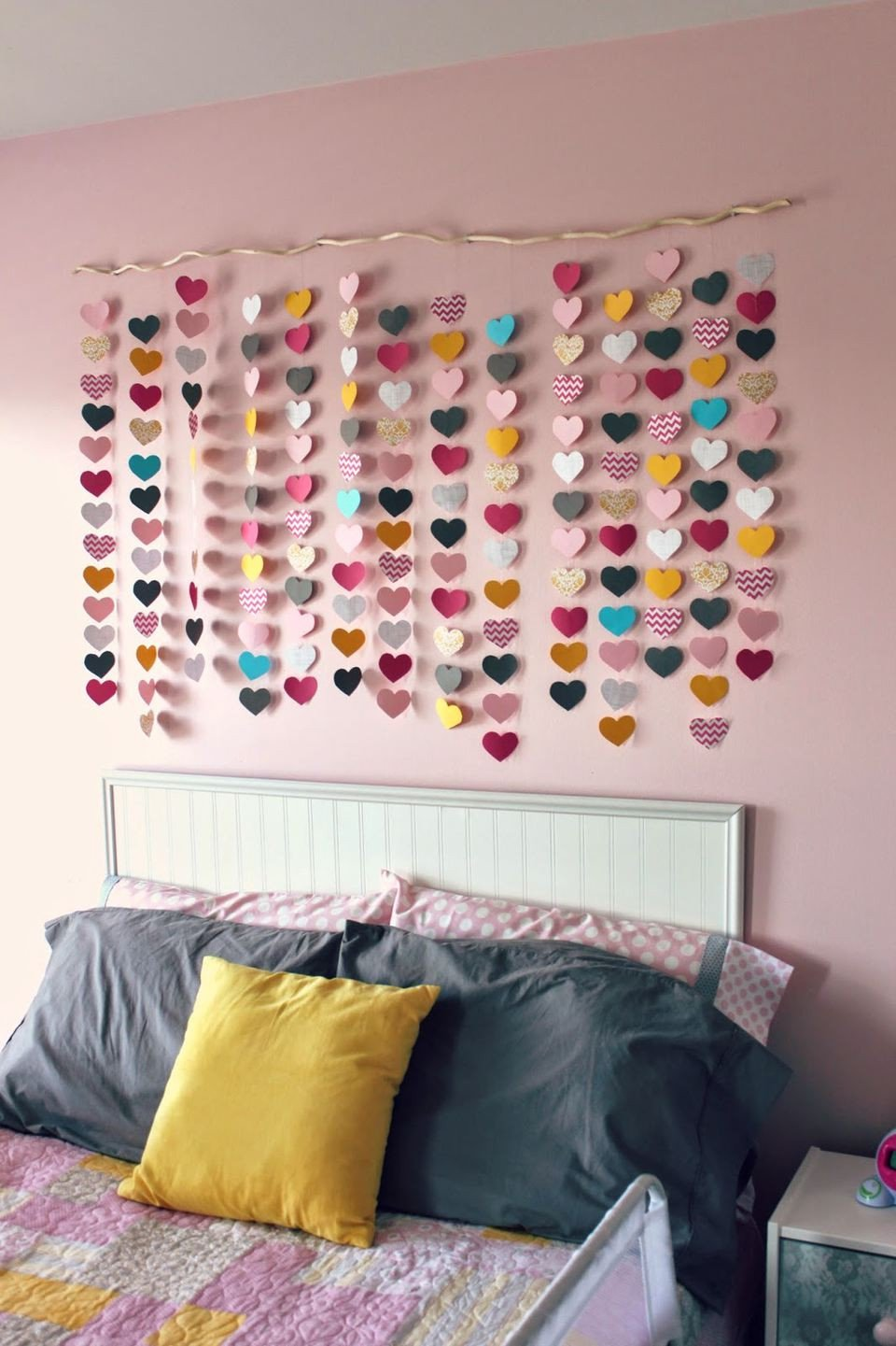 Homemade Wall Decoration Ideas for Bedroom Awesome 24 Wall Decor Ideas for Girls Rooms