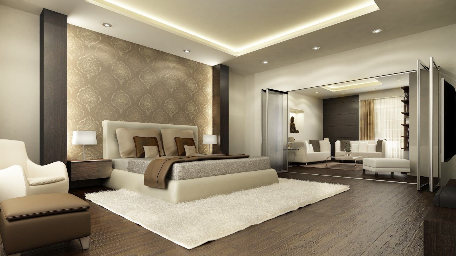 How to Decorate A Large Bedroom Inspirational Master Bedroom Interior Design Decorating Ideas In Luxury