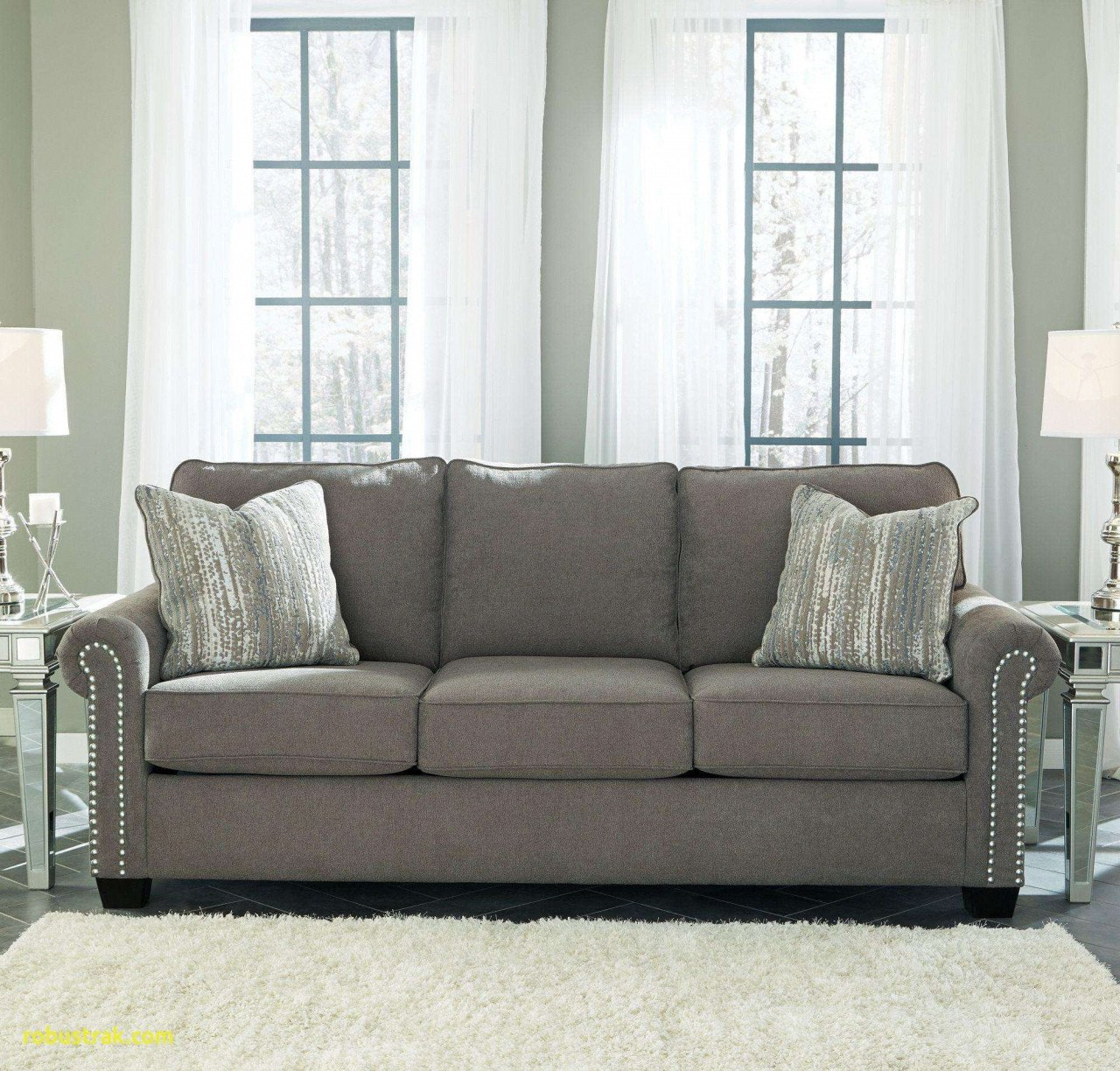 How to Decorate A Large Bedroom Lovely Gray Couch Living Room — Procura Home Blog