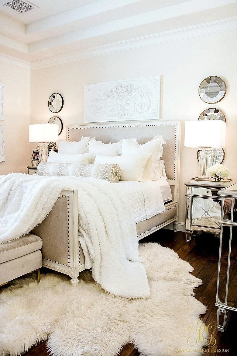How to Decorate A Large Bedroom Luxury I Love How Clean and Chic This Looks In 2020