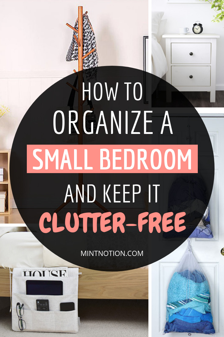 How to organize A Bedroom Awesome How to organize A Small Bedroom and Keep It Clutter Free