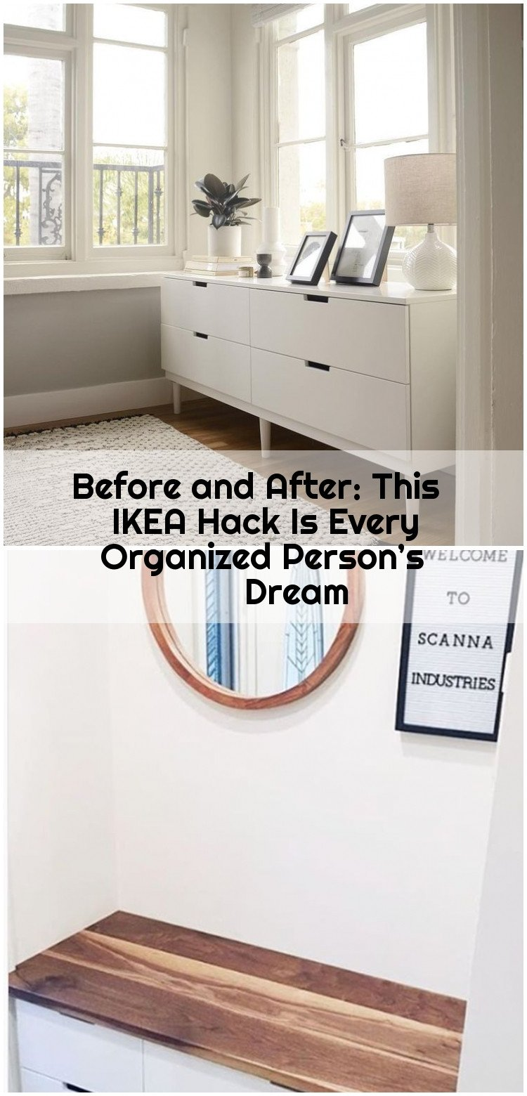 How to organize A Bedroom Unique before and after This Ikea Hack is Every organized Person S