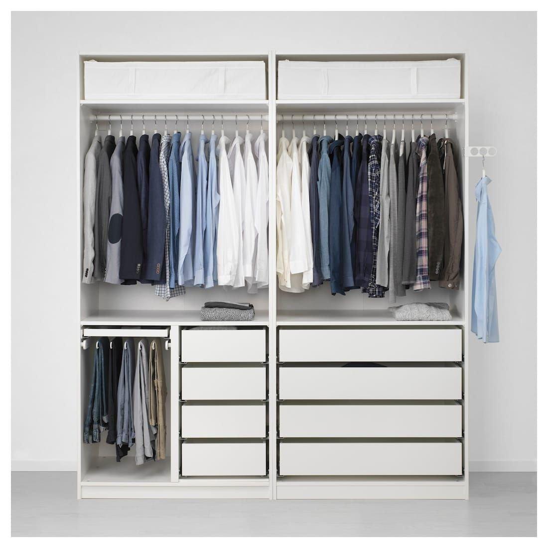 Ikea Bedroom Furniture Wardrobes Unique Pax Wardrobe White Hokksund High Gloss Hokksund Light