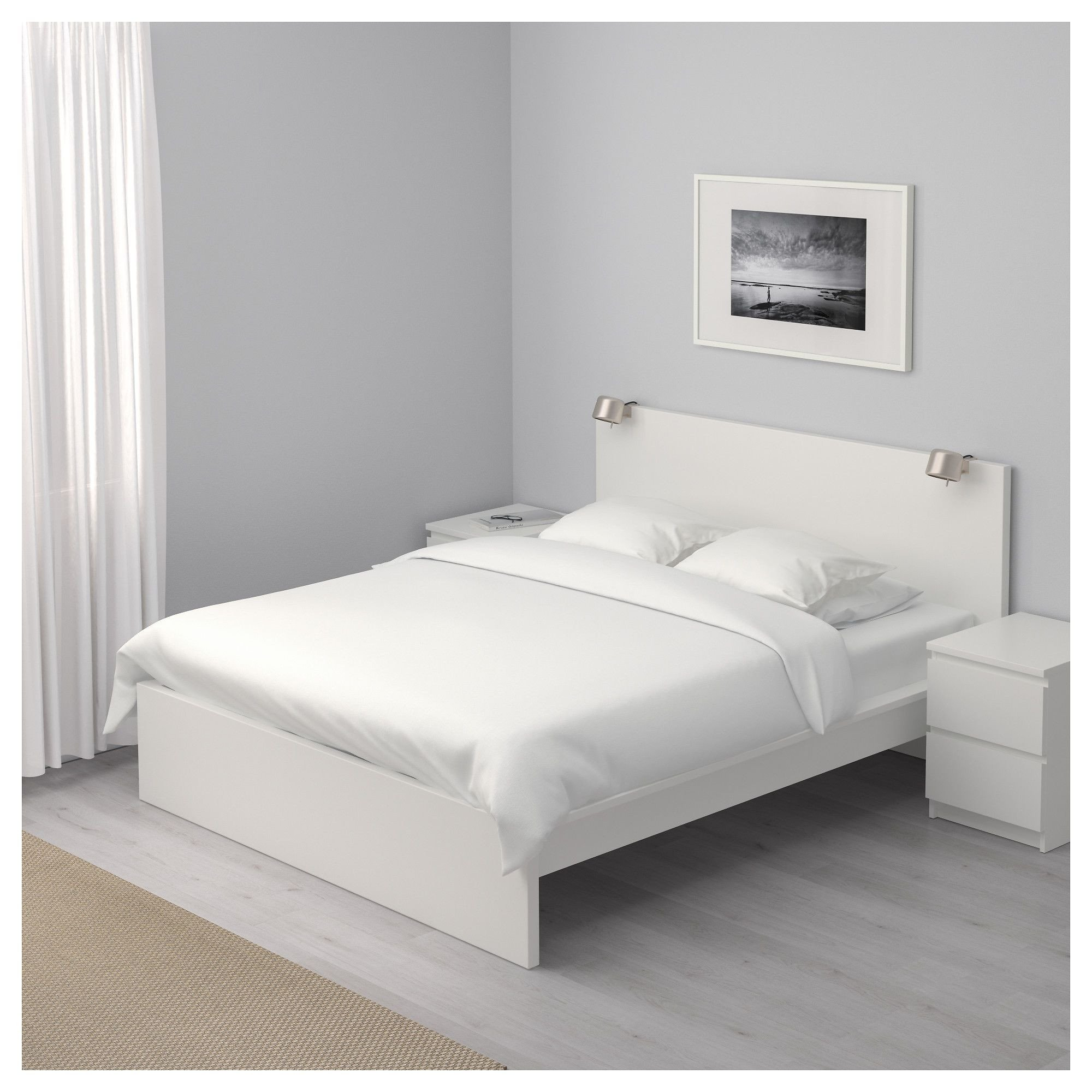 Ikea Bedroom Set Queen Awesome Ikea Malm White Luröy Bed Frame High