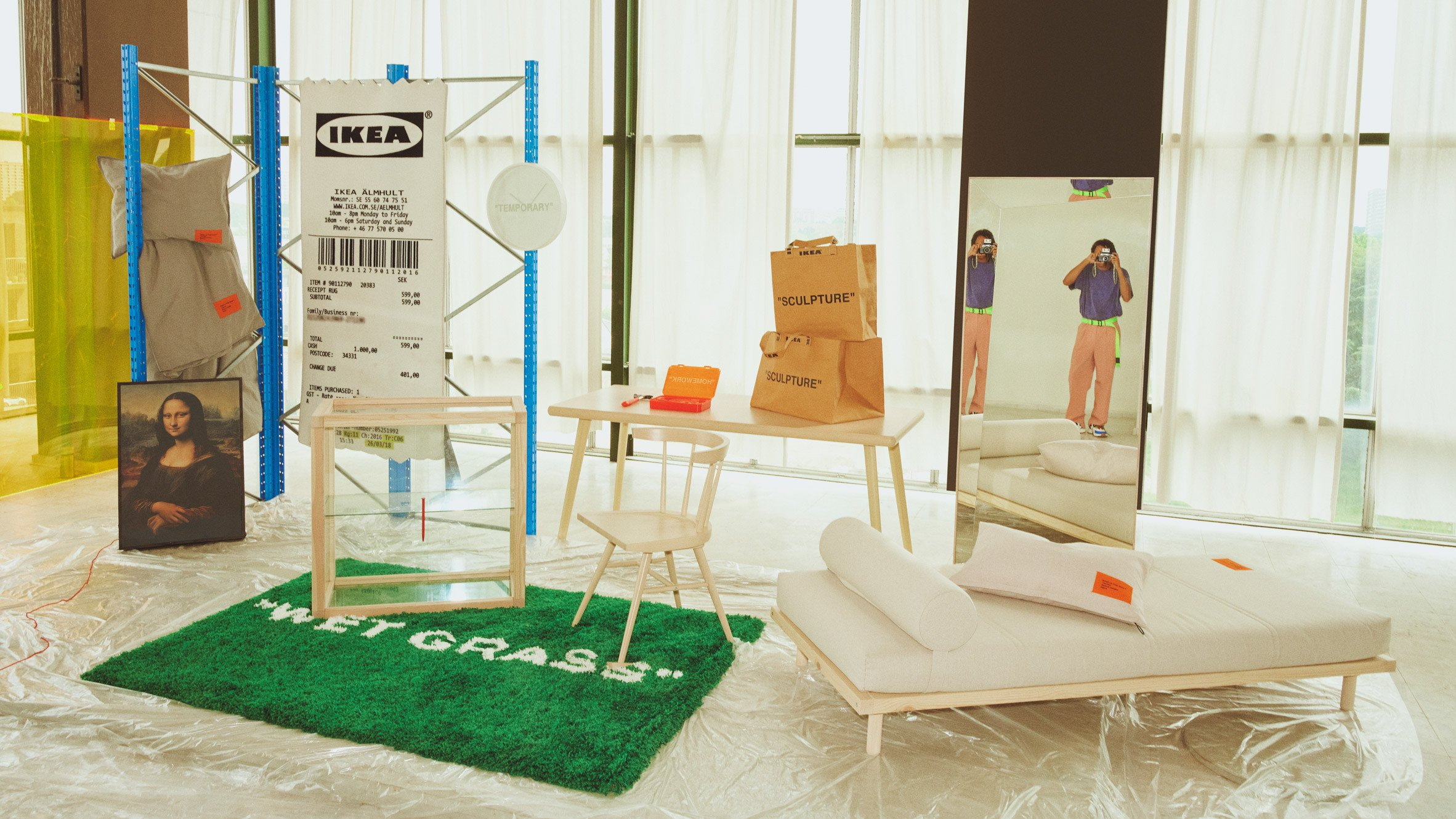 Ikea Bedroom Set Queen Inspirational Virgil Abloh Reveals Full Ikea Collection Ahead Of Us Launch
