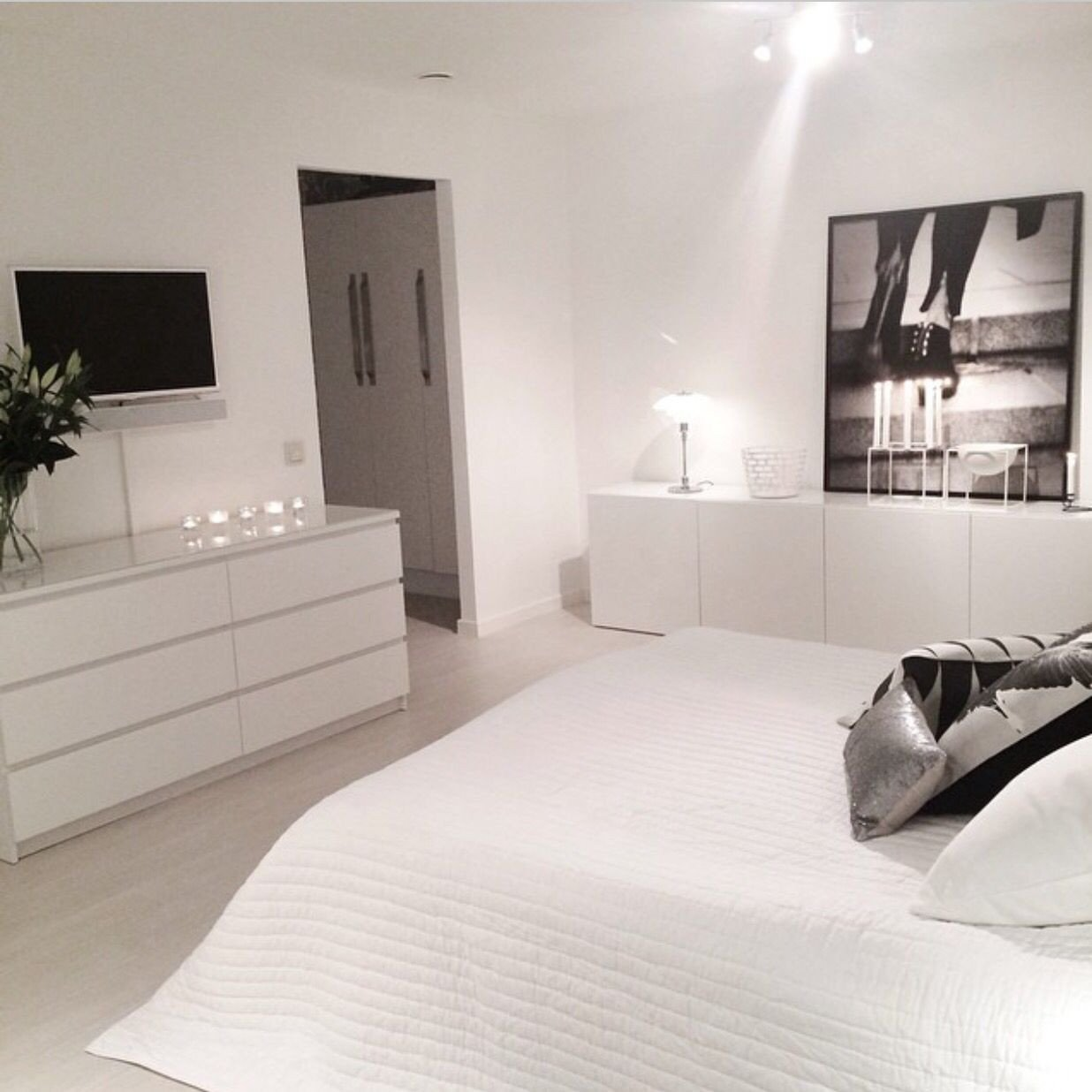Ikea White Bedroom Furniture Fresh Scandinavian Design Get to Know This All White Design