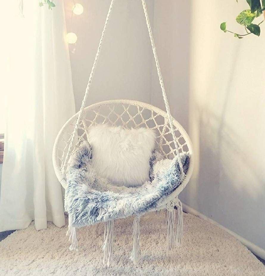 Indoor Hanging Chair for Bedroom Inspirational Boho Dream Catcher Hanging Chair Rattan Chair Hammock Swing