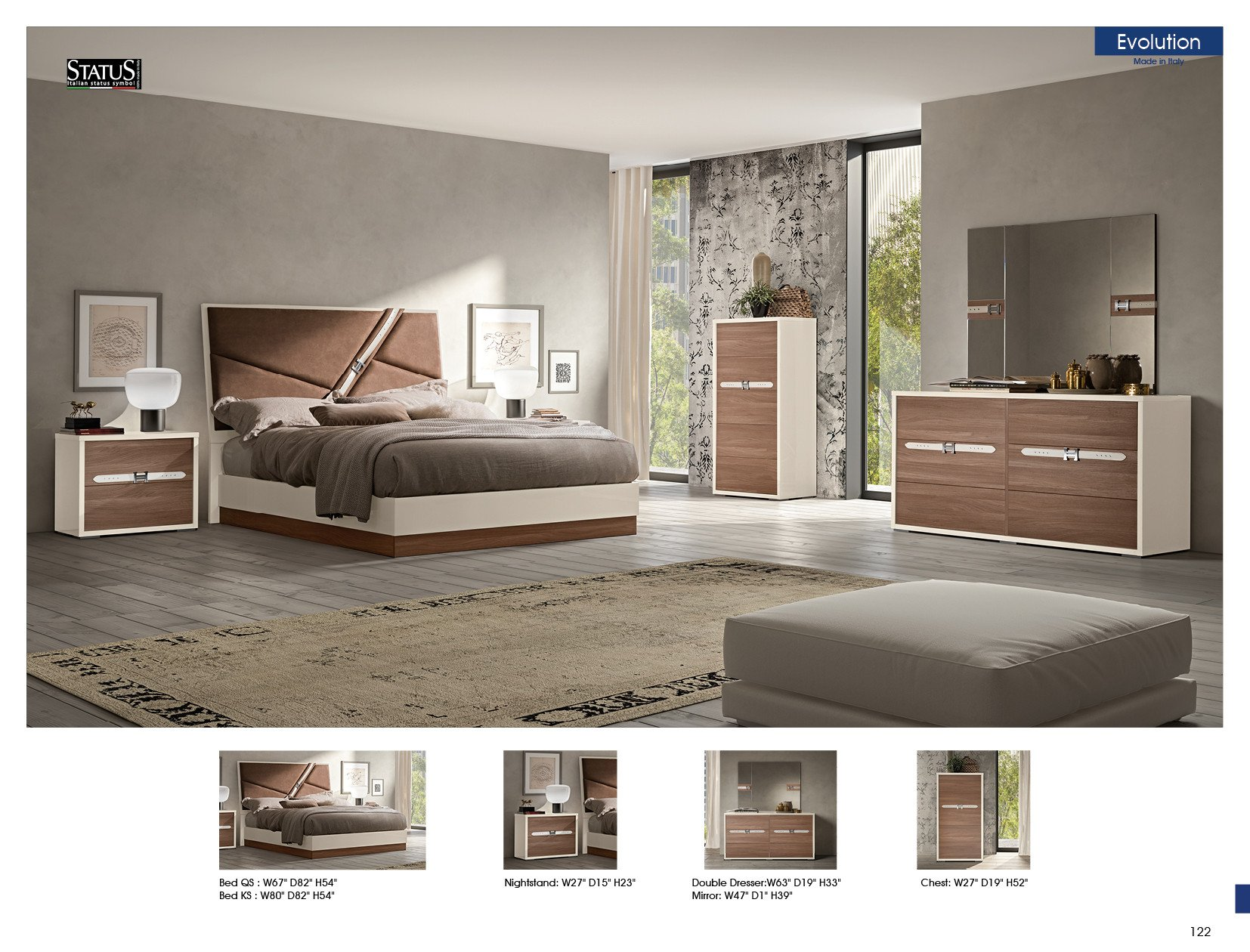 Italian Modern Bedroom Furniture Inspirational Evolution Bedroom Modern Bedrooms Bedroom Furniture