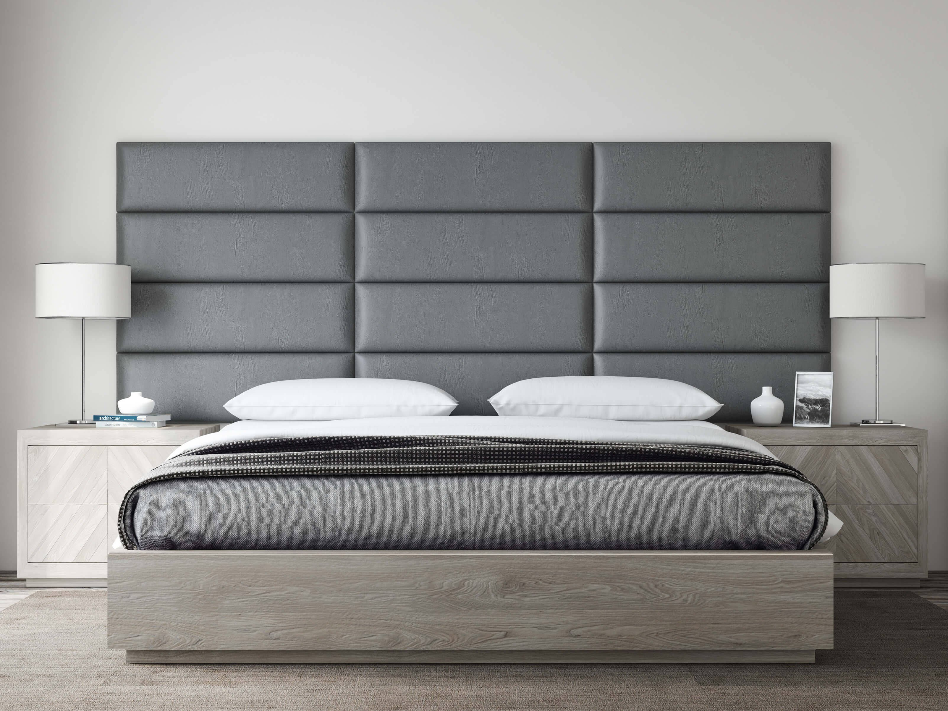 Jennifer Convertibles Bedroom Set Unique Vant Panels Vintage Leather Gray Pewter King or Full Wall Panels 117 X 46