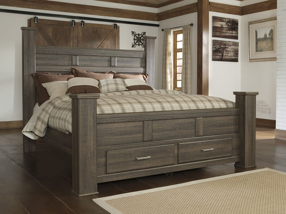 Juararo Queen Bedroom Set Beautiful Juararo Queen Storage Bed