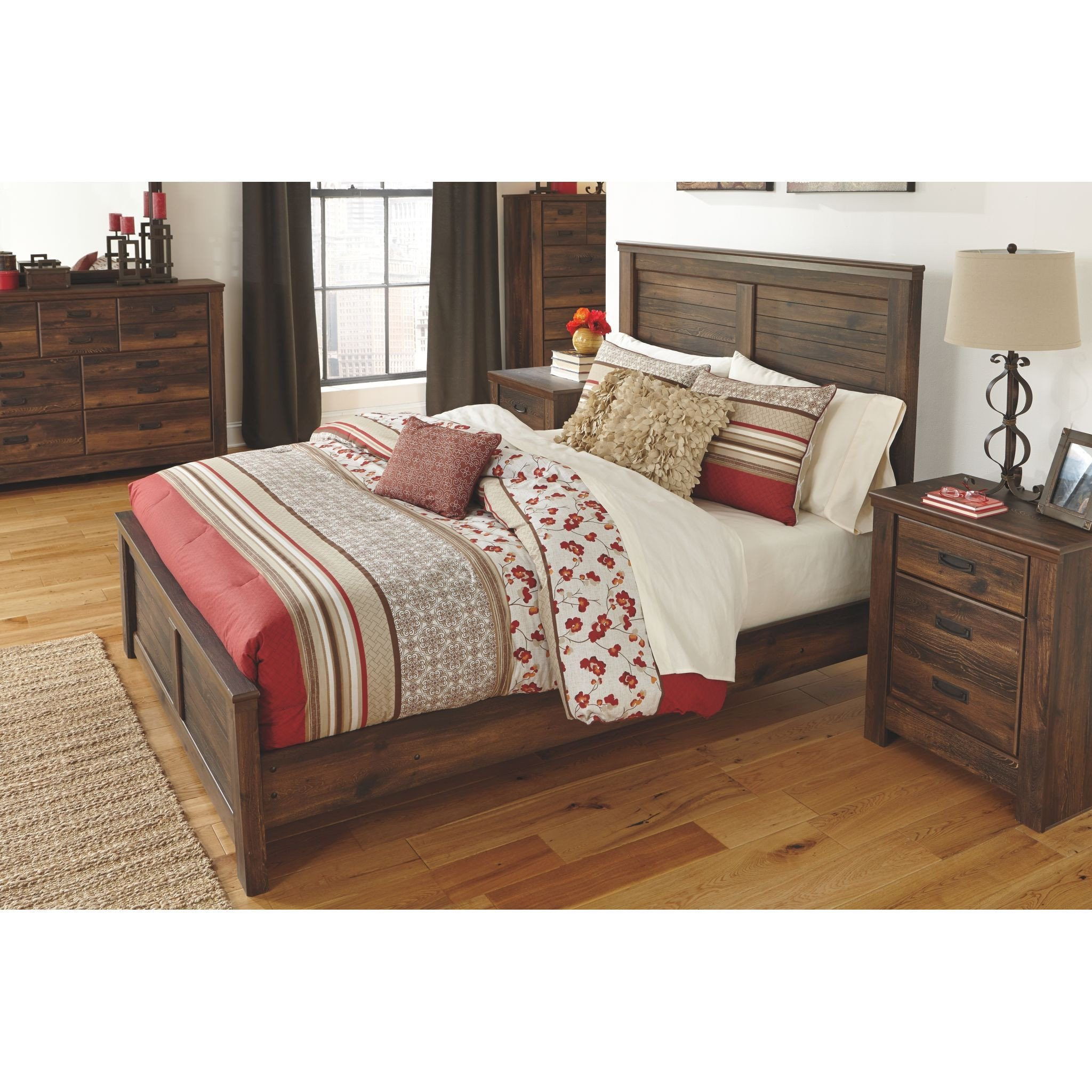 Juararo Queen Bedroom Set Inspirational Quinden 4 Piece King Poster Bed ashley Homestore Canada