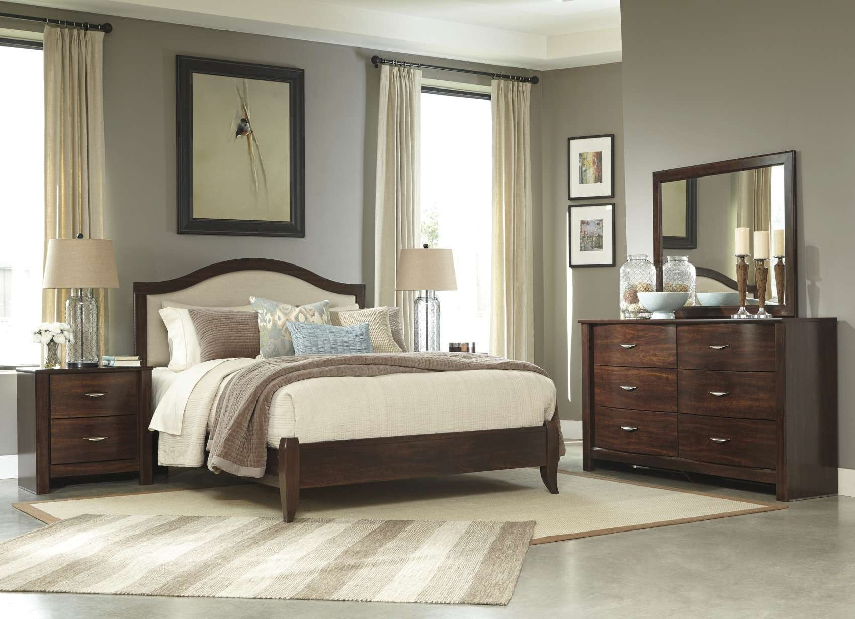 Juararo Queen Bedroom Set New Corraya Medium Brown Bedroom Collection B428