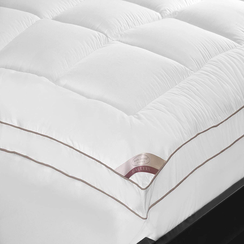 Kathy Ireland Bedroom Furniture Fresh Kathy Ireland Home Essentials 233 Thread Count Cotton Fiber Mattress Pad Queen White