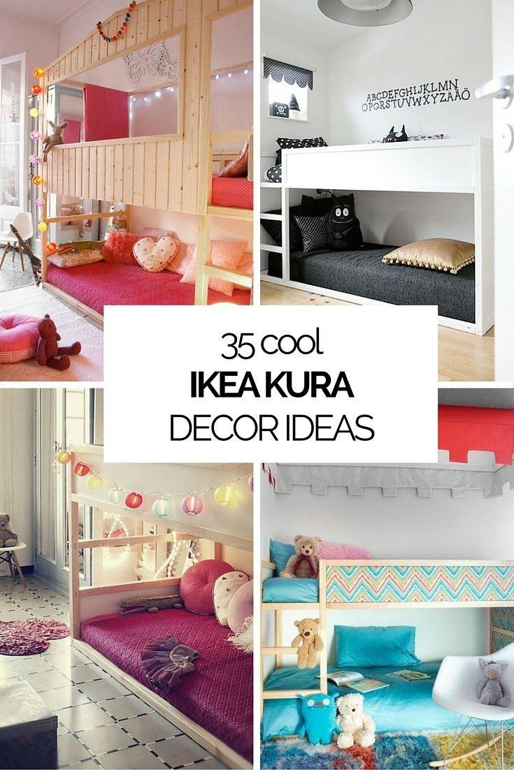Kid Bedroom Decorating Idea Luxury 35 Cool Ikea Kura Beds Ideas for Your Kids Rooms