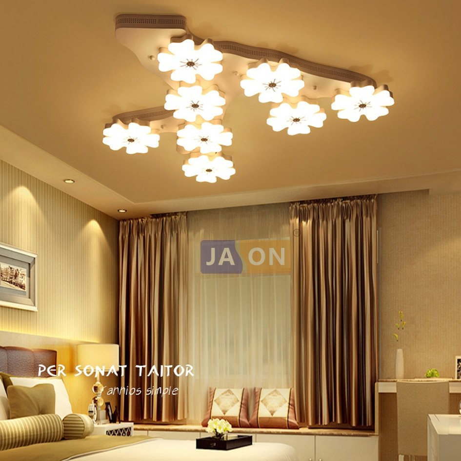 Kids Bedroom Ceiling Light Awesome Super Promo 15e54 Led nordic Iron Acrylic Plum Blossom