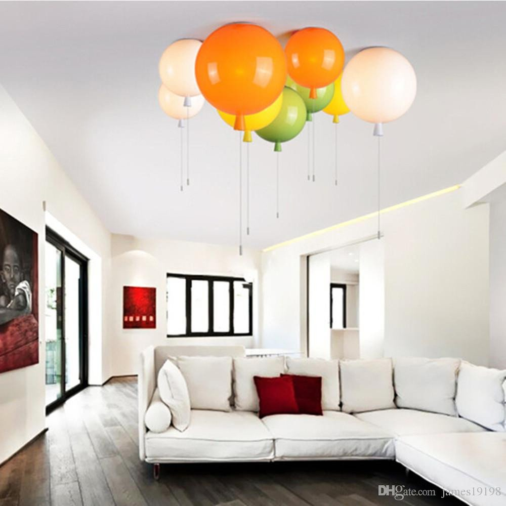 Kids Bedroom Ceiling Light Best Of 2019 New Modern Colorful Balloon Light Ceiling Lamp Kids Lights for Child S Room From James $62 41