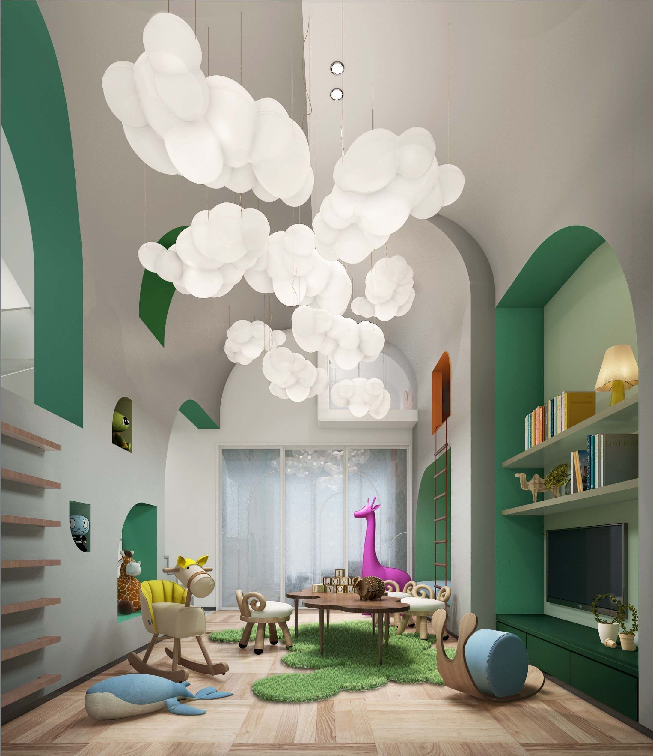 Kids Bedroom Ceiling Light New Bedroom Cloud Décor
