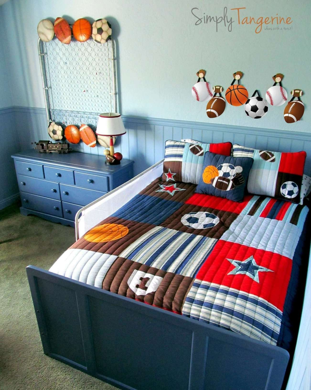 Kids Bedroom for Boy Beautiful Bedroom Decor Green and Gray Beautiful orange and Grey