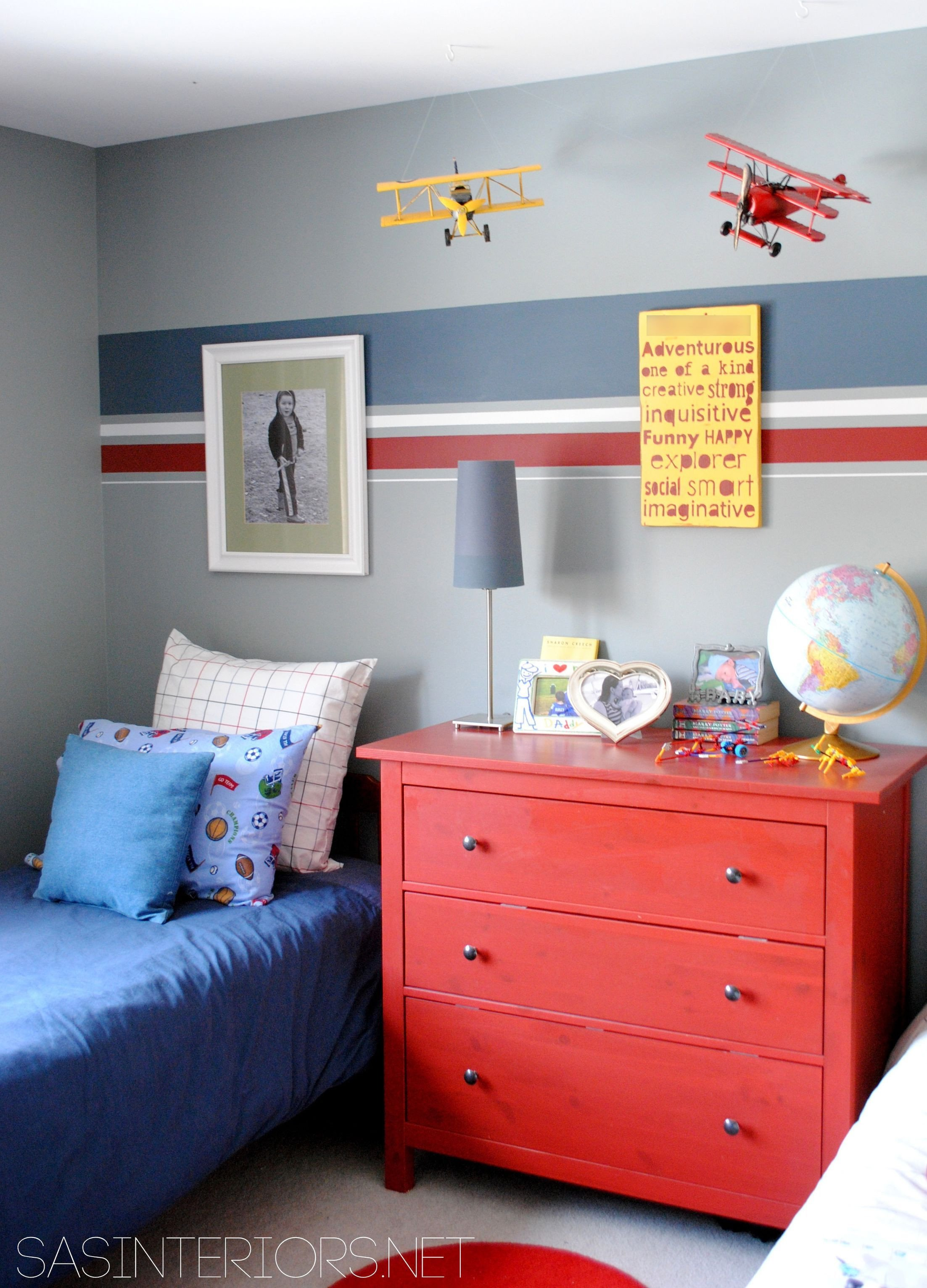 Kids Bedroom for Boy New How to Make Three Paint Colors Work In A Room
