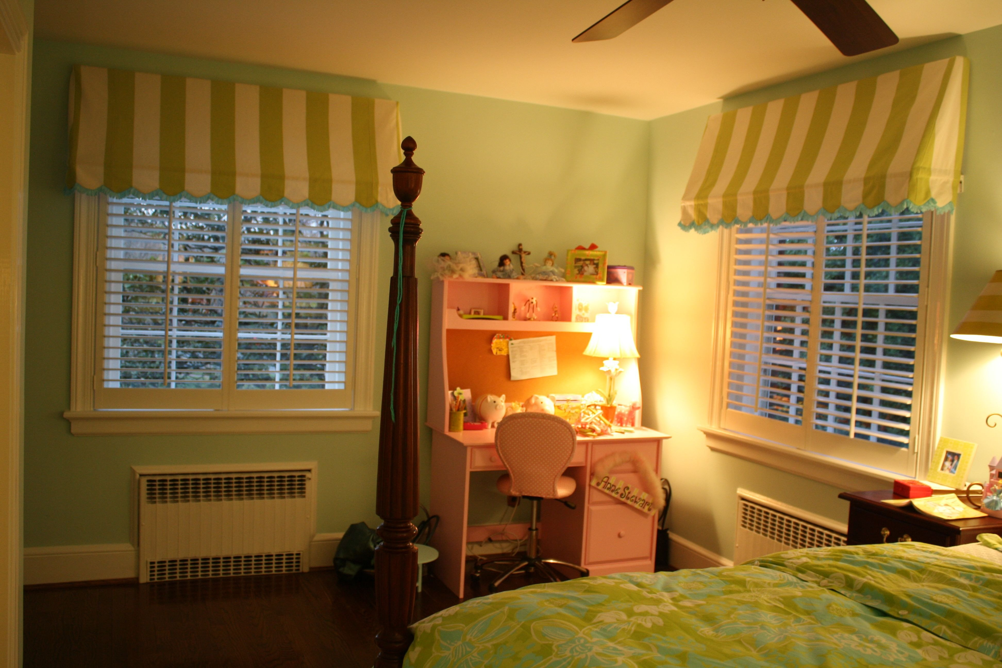 Kids Bedroom for Girls Awesome Scalloped Awning Curtains In My Daughter S Room
