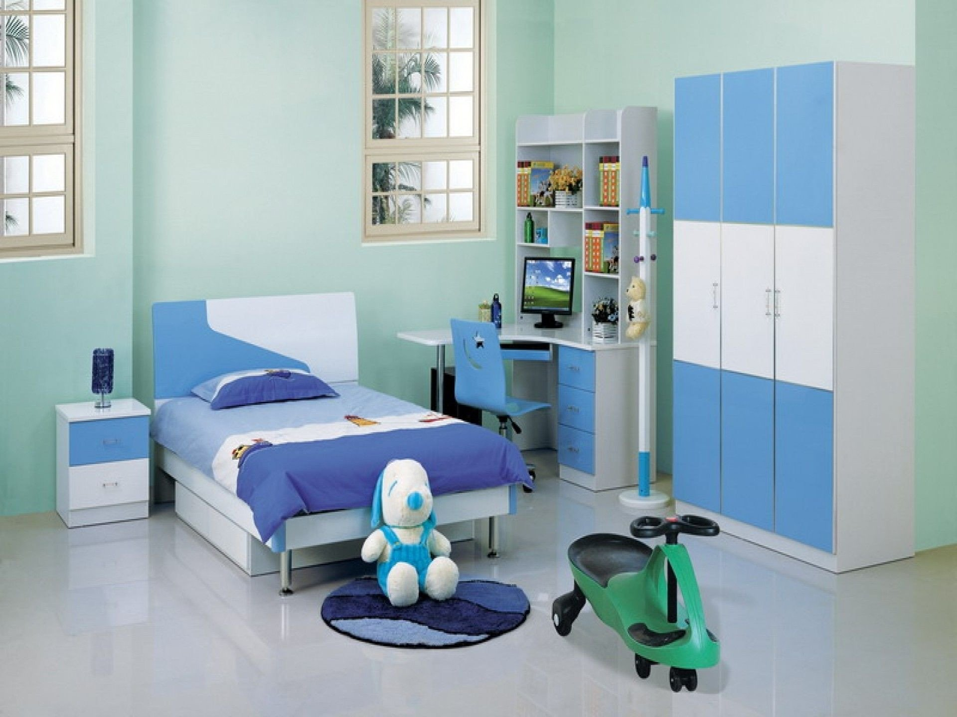 Kids Bedroom Set with Desk New Winsome Children Room Furniture Design Ideas In White and