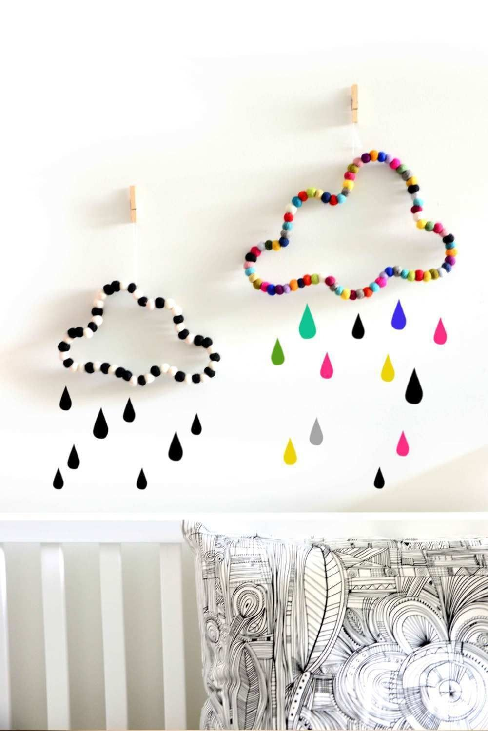 Kids Bedroom Wall Decor Best Of Wall Hanging Ideas for Bedrooms Luxury Cloud Wall Decor