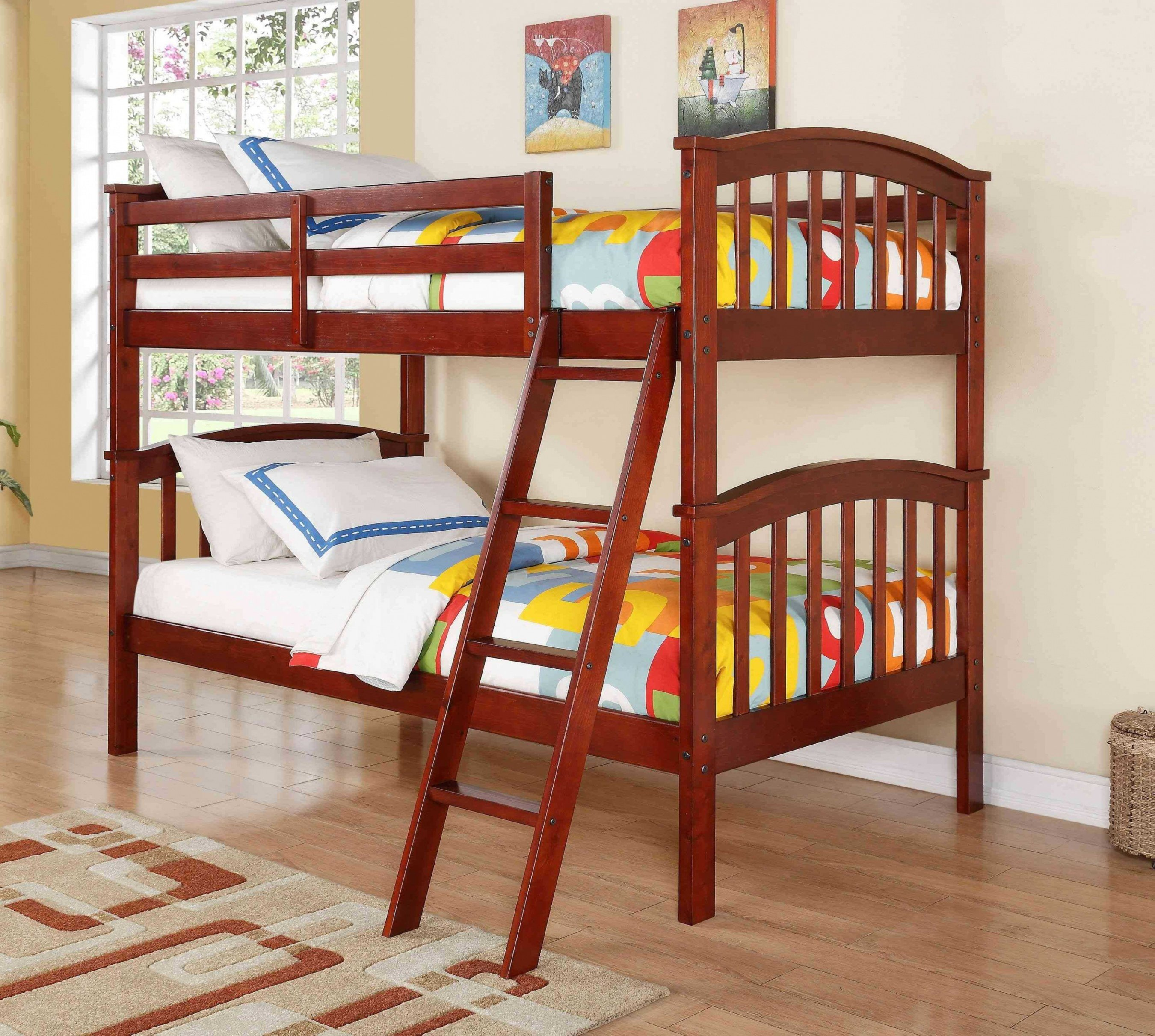 Kids Bunk Bed Bedroom Set Beautiful Tween Loft Bed Adult Twin Bed — Rabbssteak House Home