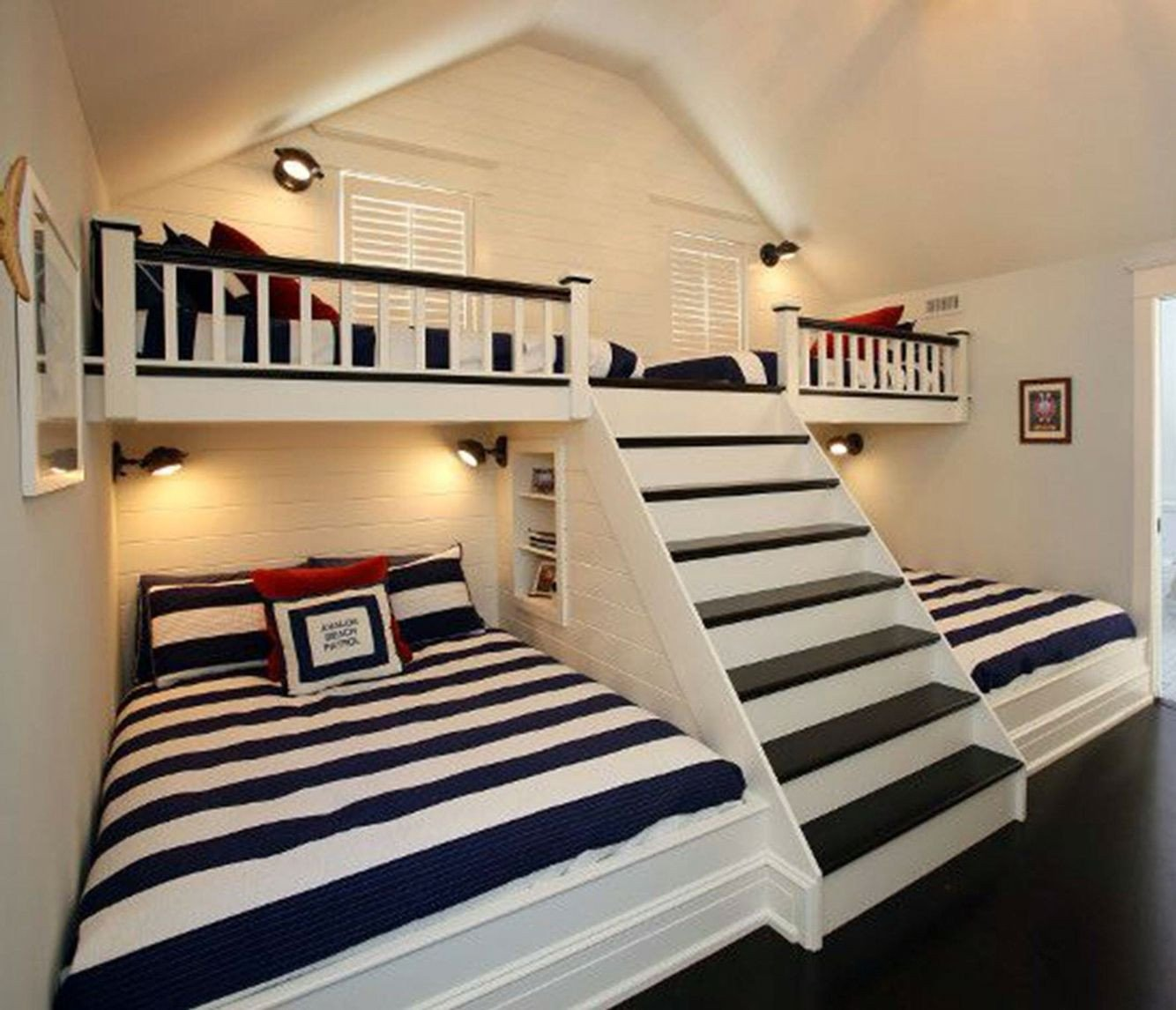 Kids Bunk Bed Bedroom Set New Kids Room for Our Tiny House I Love the Semiprivate