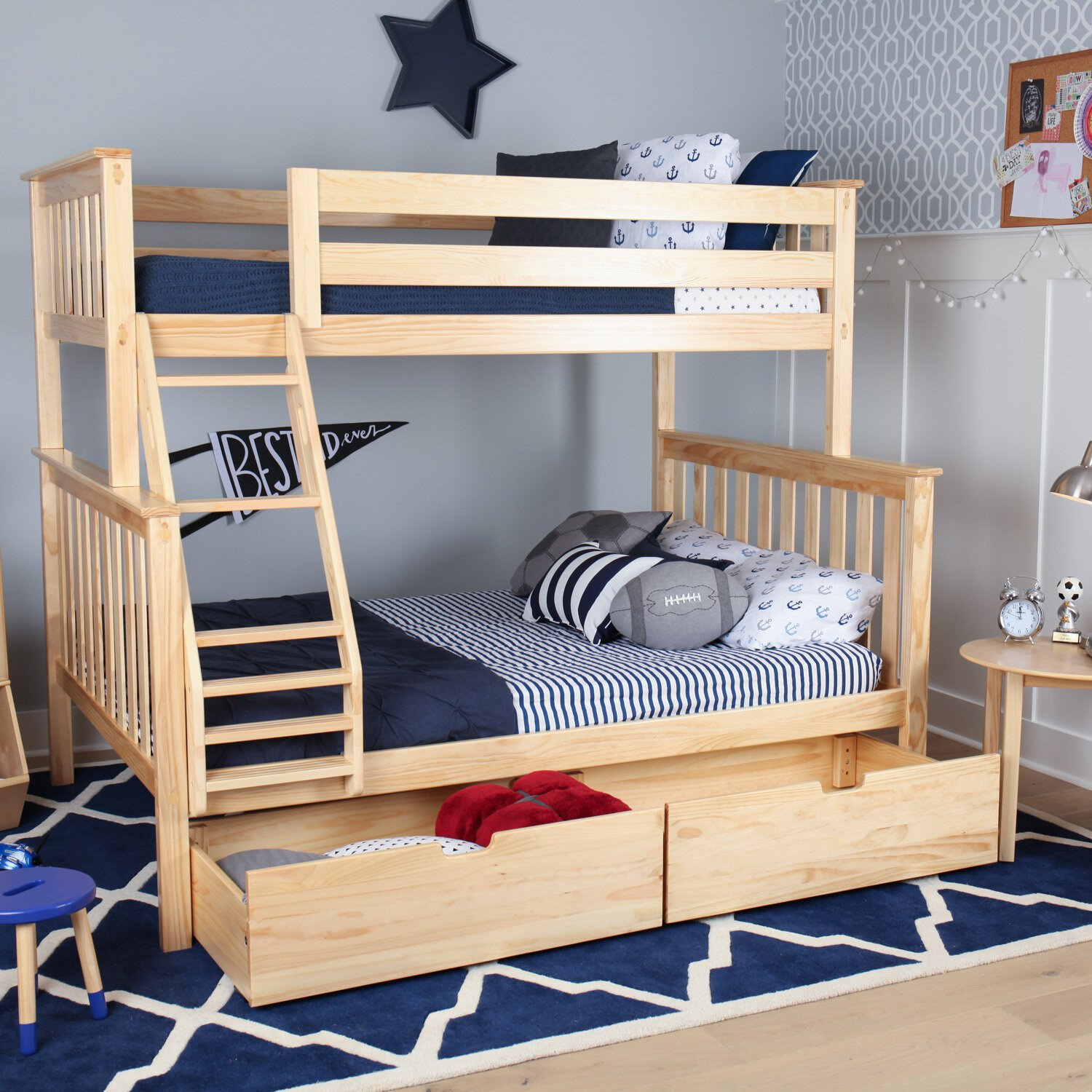 Kids Bunk Bed Bedroom Set Unique Borgen Bunk Bed with Drawers