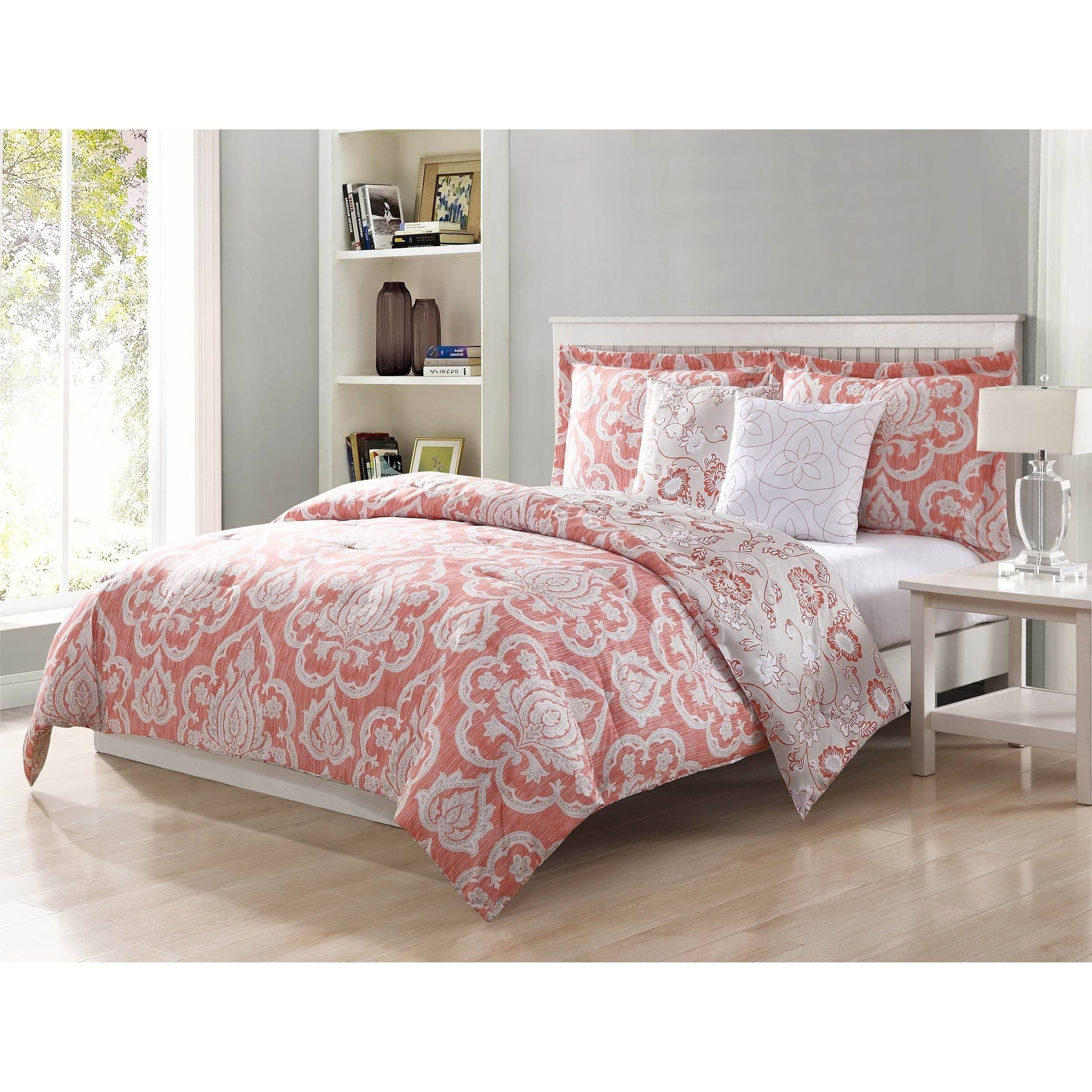 King Bedroom Comforter Set Best Of Studio 17 Dorian Blush 5 Piece Reversible forter Set