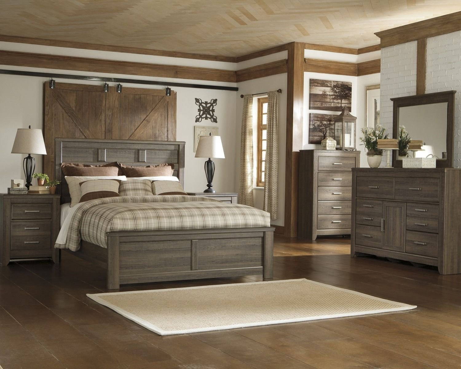 King Bedroom Furniture Set Awesome Juararo Panel Bedroom Set by ashley Home Gallery Stores
