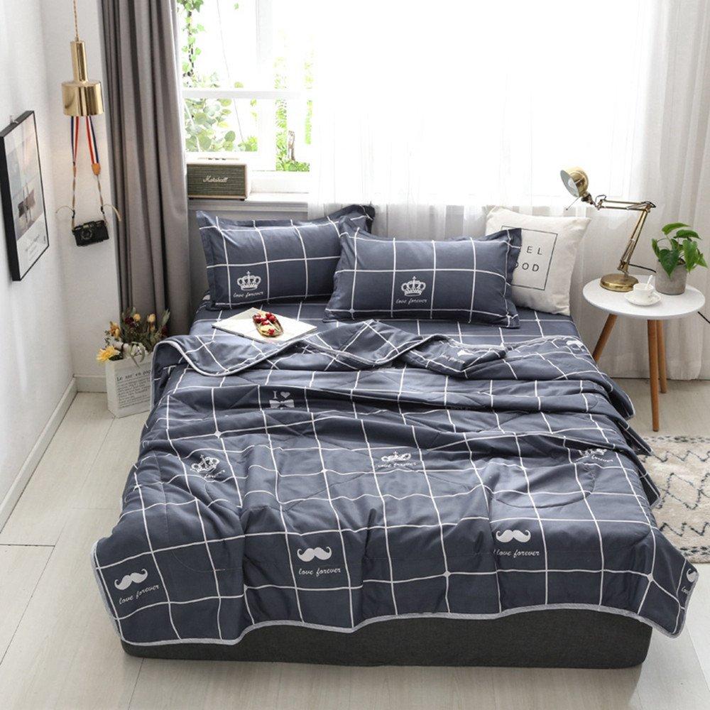 King Size Bedroom Comforter Set Beautiful Details About Checked Doona Quilt Duvet forter Single Double Queen Size Bedding Blanket New