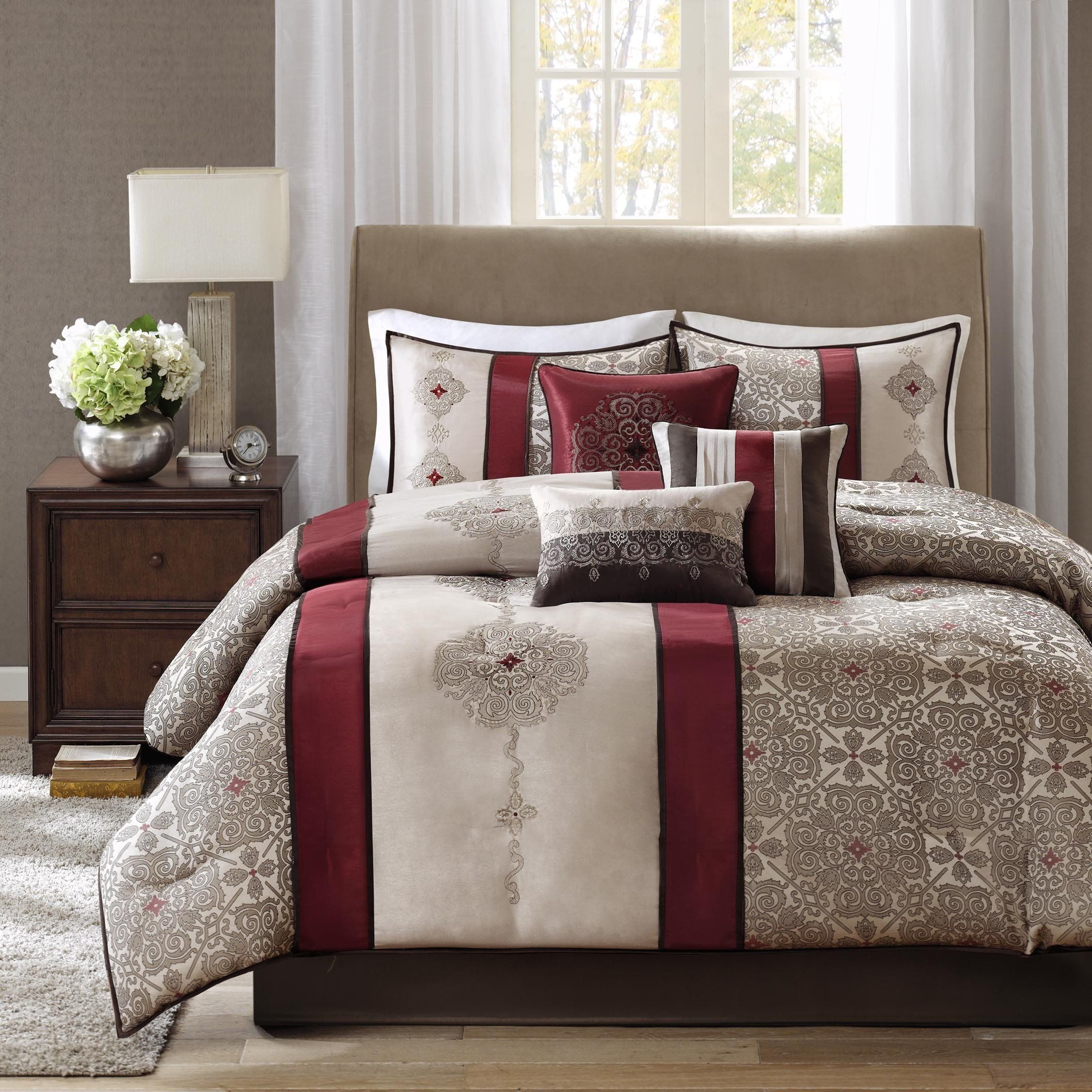 King Size Bedroom Comforter Set Best Of Madison Park Donovan King Size Bed forter Set Bed In A