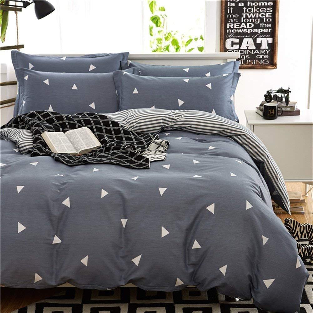 King Size Bedroom Comforter Set Fresh Amazon Ktlrr Cotton Duvet Cover Bed Set Geometric