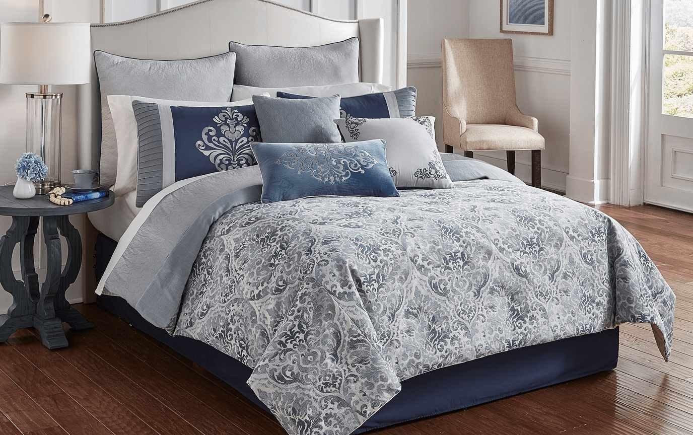King Size Bedroom Comforter Set Lovely Carver 9 Piece Queen forter Set