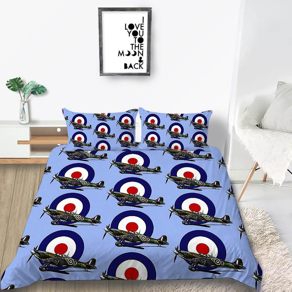 King Size Bedroom Comforter Set Lovely Gamepad Bedding Set for Boy Fashionable Creative Duvet Cover Grey Queen Twin Full Single Double Unique Bed Cover with Pillowcase Full Bedding Sets