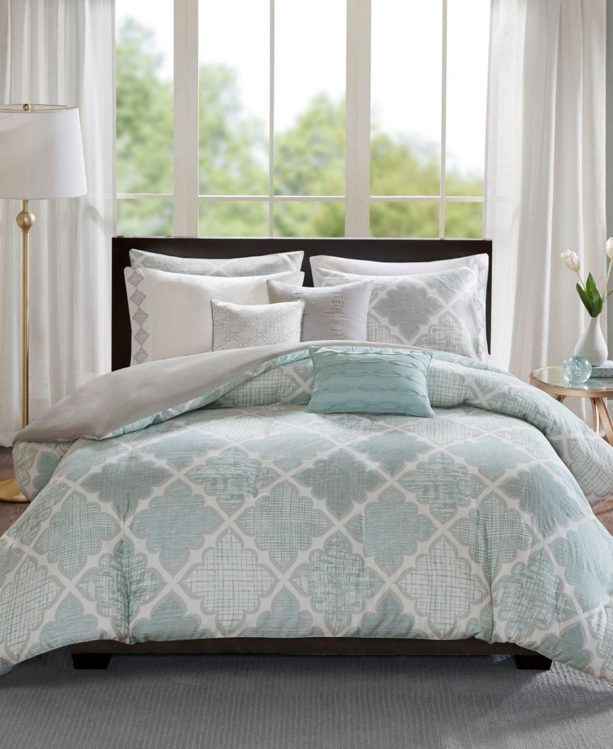 King Size Bedroom Comforter Set Lovely Madison Park Cadence Cotton 8 Pc King California King Duvet