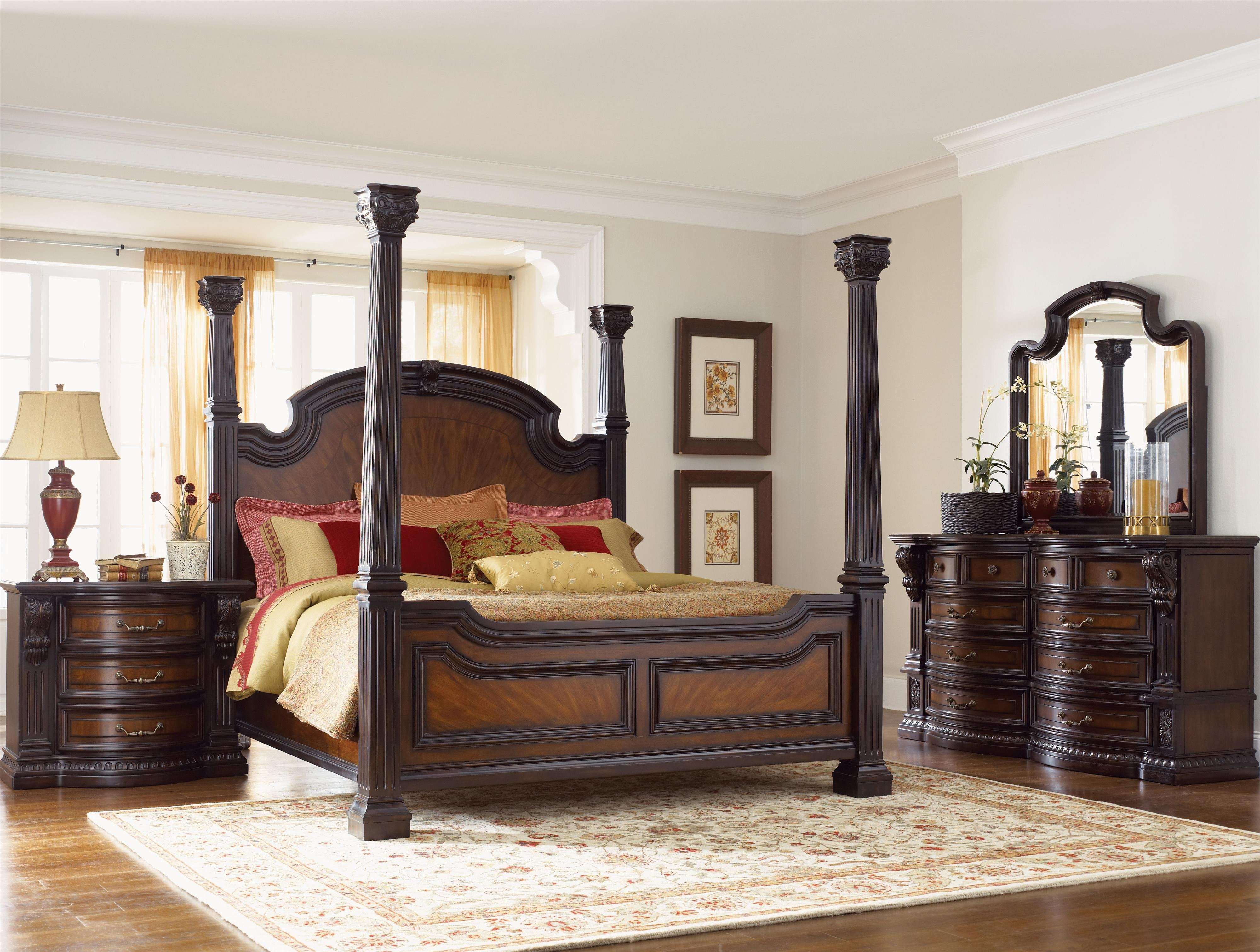 King Size Bedroom Set with Mattress New Grand Estates 02 by Fairmont Designs Royal Furniture