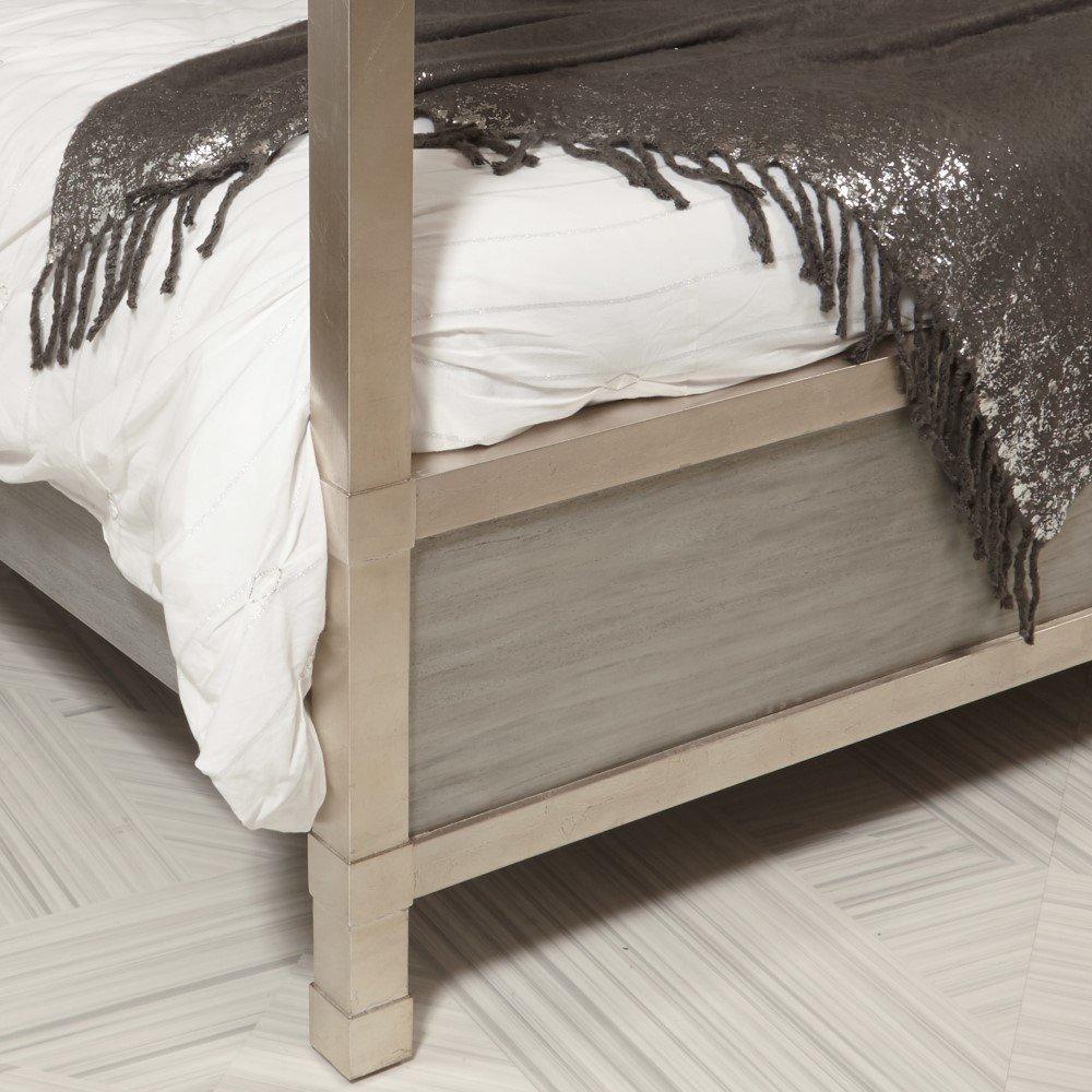 King Size Canopy Bedroom Set Inspirational Pulaski Velvet Quatrefoil King Canopy Bed D199 Br K4