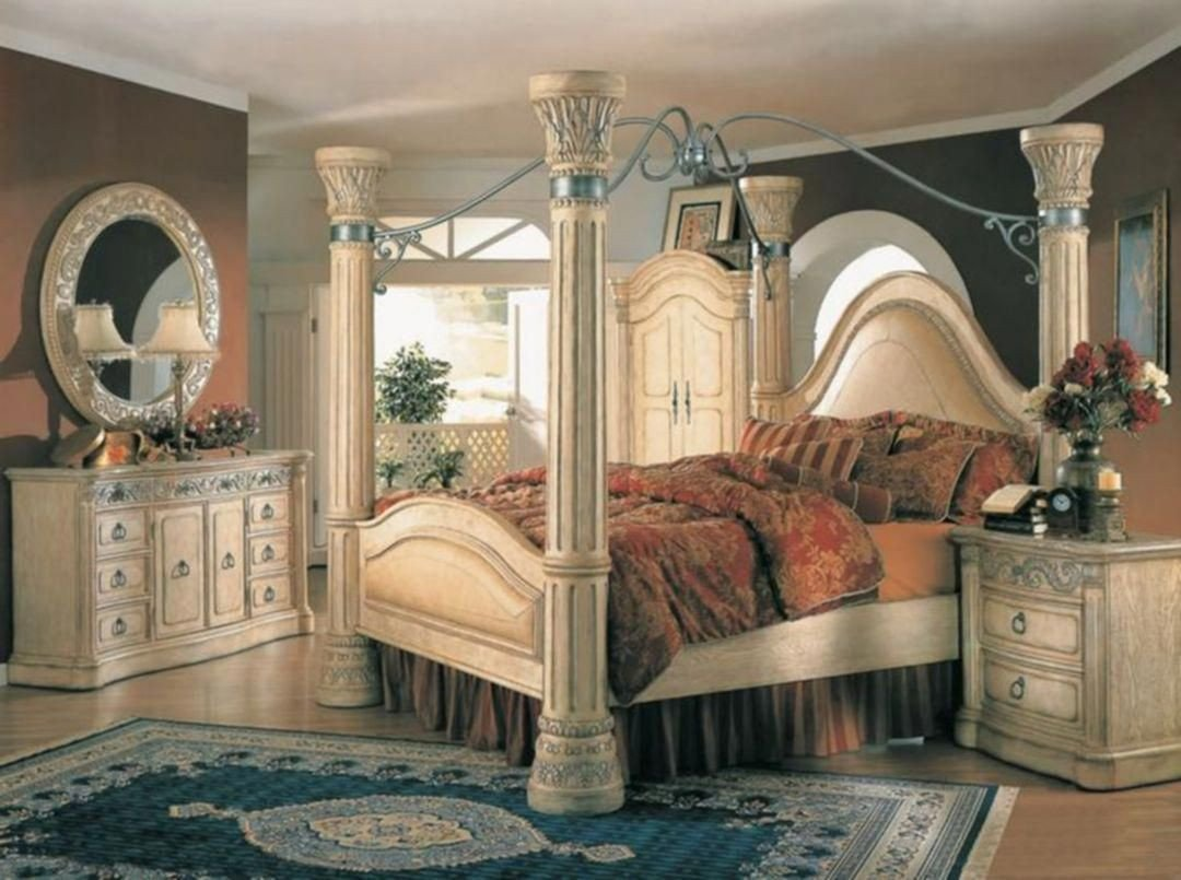 King Size Poster Bedroom Set Elegant Furniture Lab softwareforfurniturestore