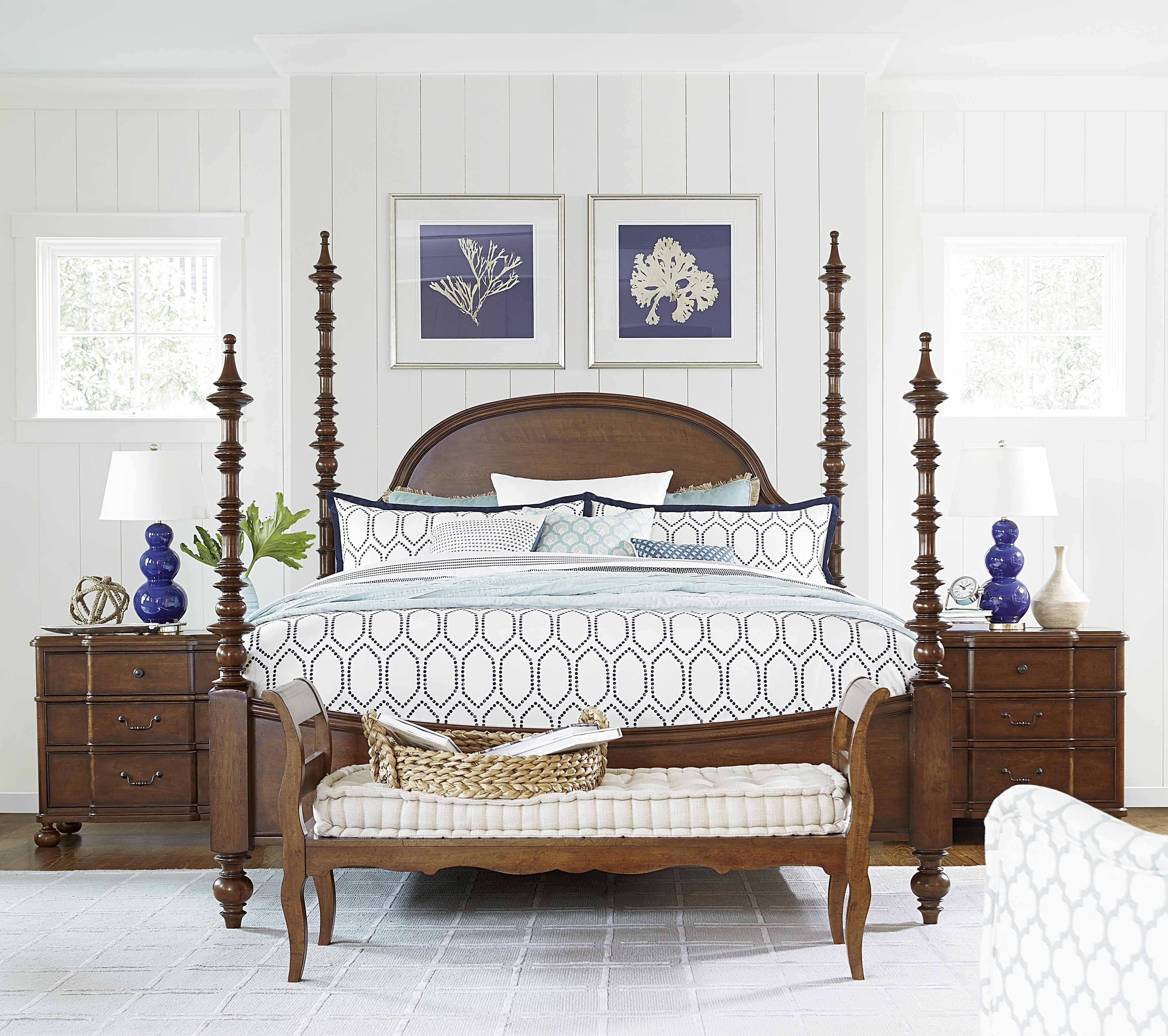 King Size Poster Bedroom Set Fresh Universal Furniture Paula Deen Home the Dogwood Poster King Bed In Low Tide