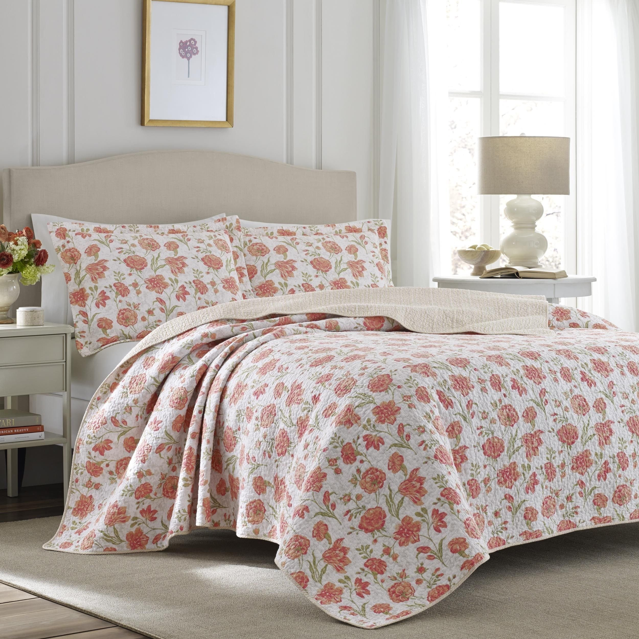 Laura ashley Bedroom Set Awesome Laura ashley Cadence Apricot Quilt Set