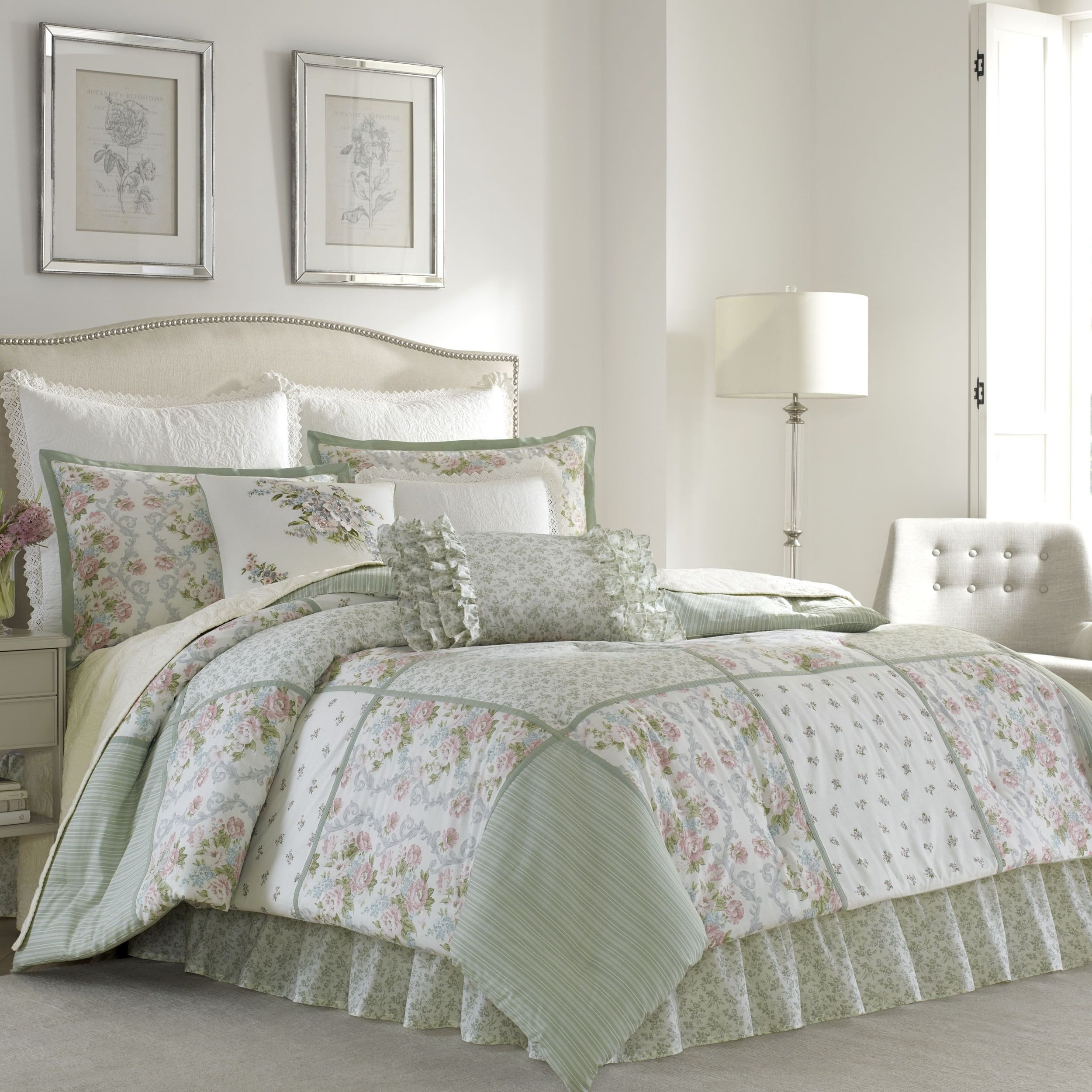 Laura ashley Bedroom Set New Laura ashley forter Set Green Full