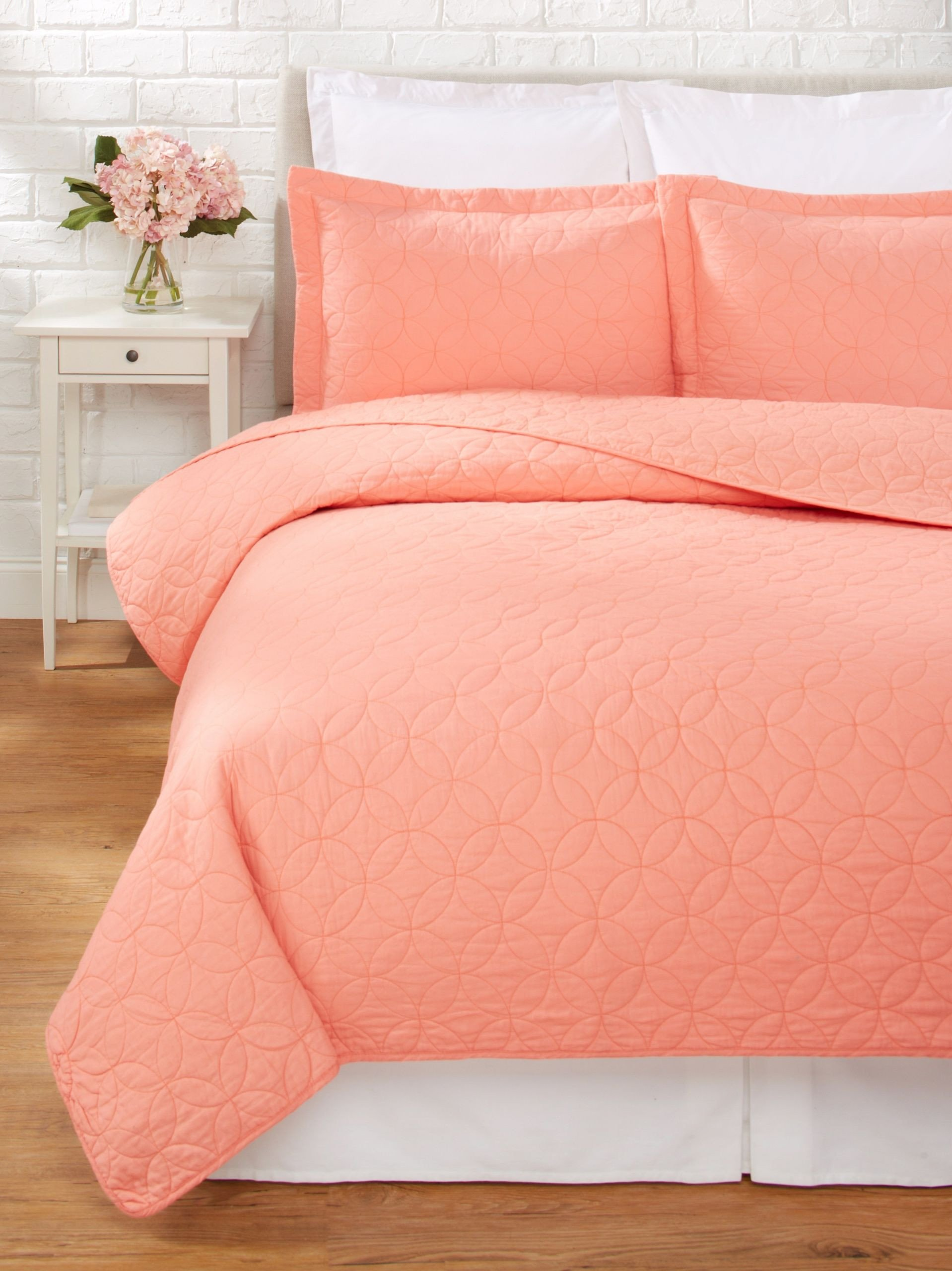 Laura ashley Bedroom Set Unique Laura ashley solid Quilt Set Coral Add Color to Your