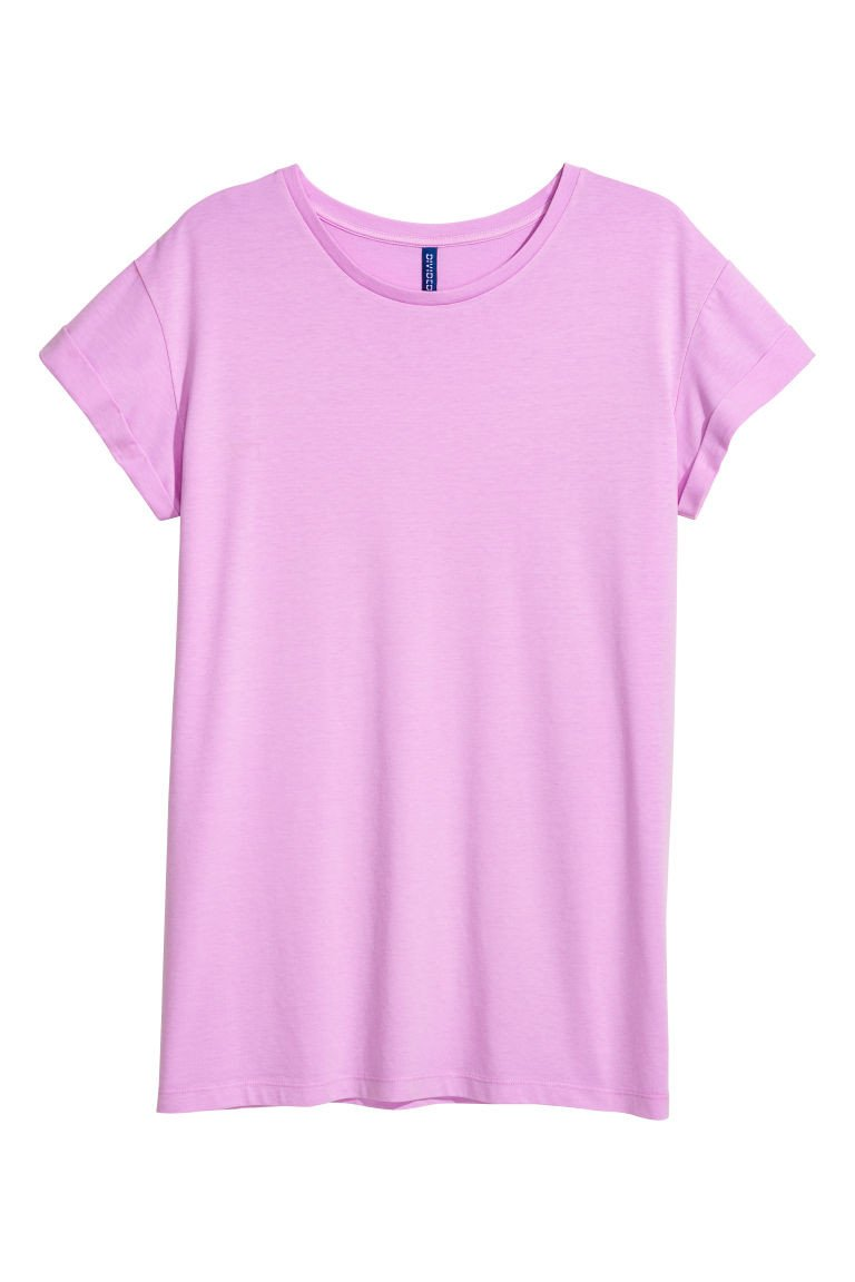 Lavender and Gray Bedroom Best Of Long T Shirt