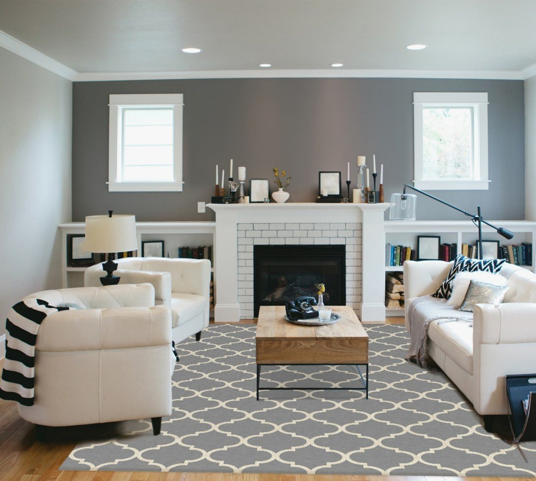 Lavender and Gray Bedroom Inspirational Grey and Cream Living Room Moroccan Trellis Rug In Light