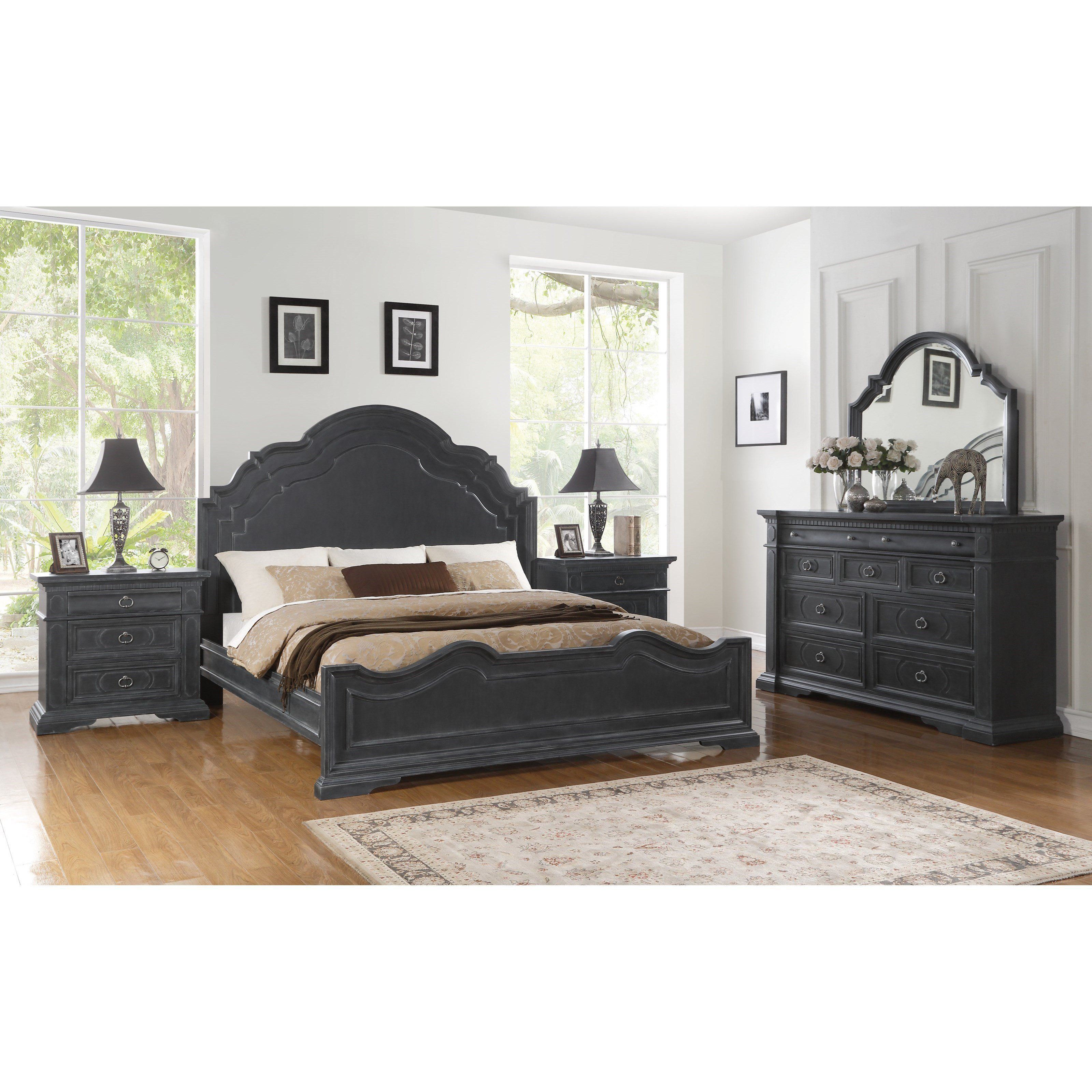 Lazy Boy Bedroom Furniture Elegant Flexsteel Wynwood Collection Charleston King Bedroom Group